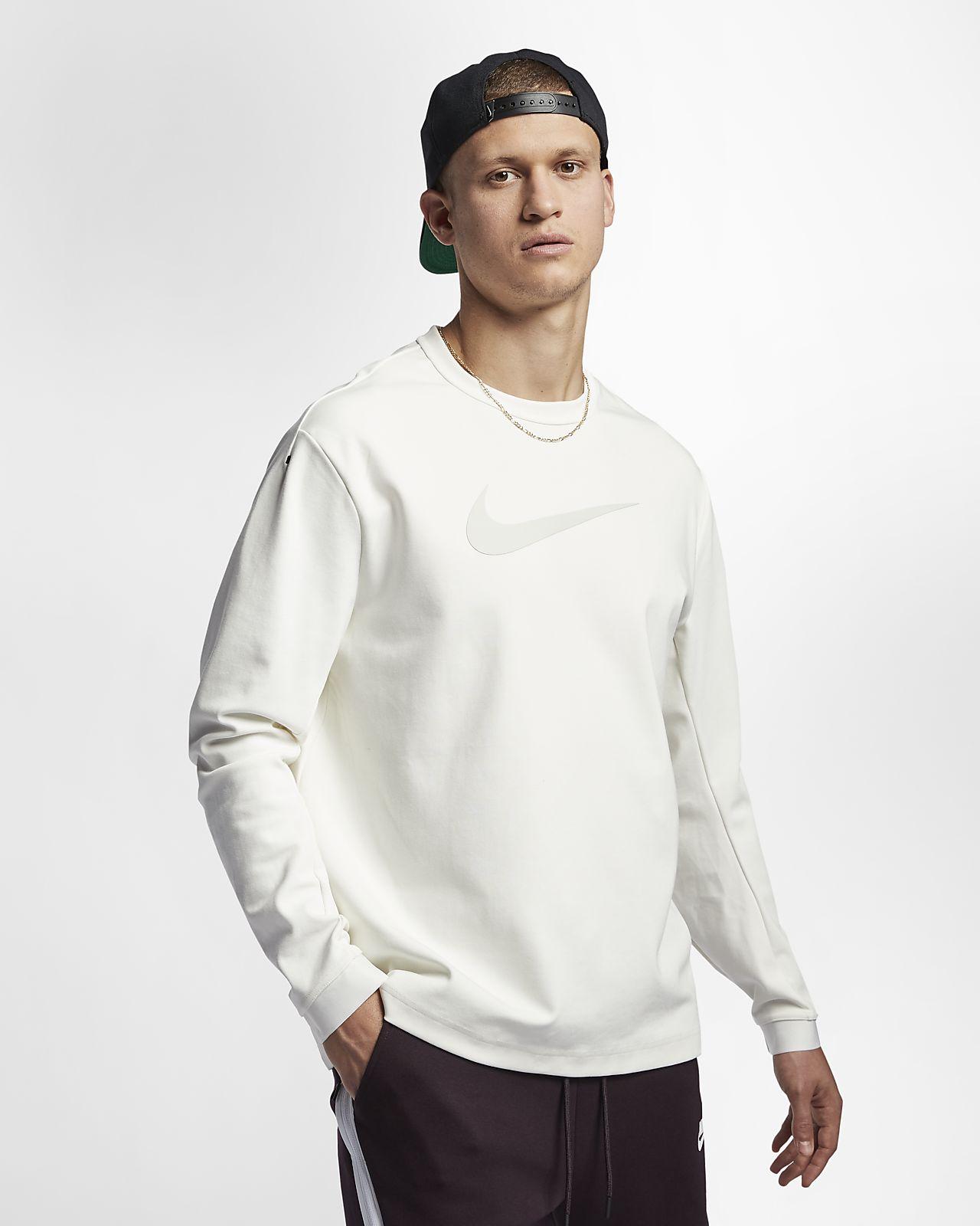 Stickad tröja med rund hals Nike Sportswear Tech Pack för män