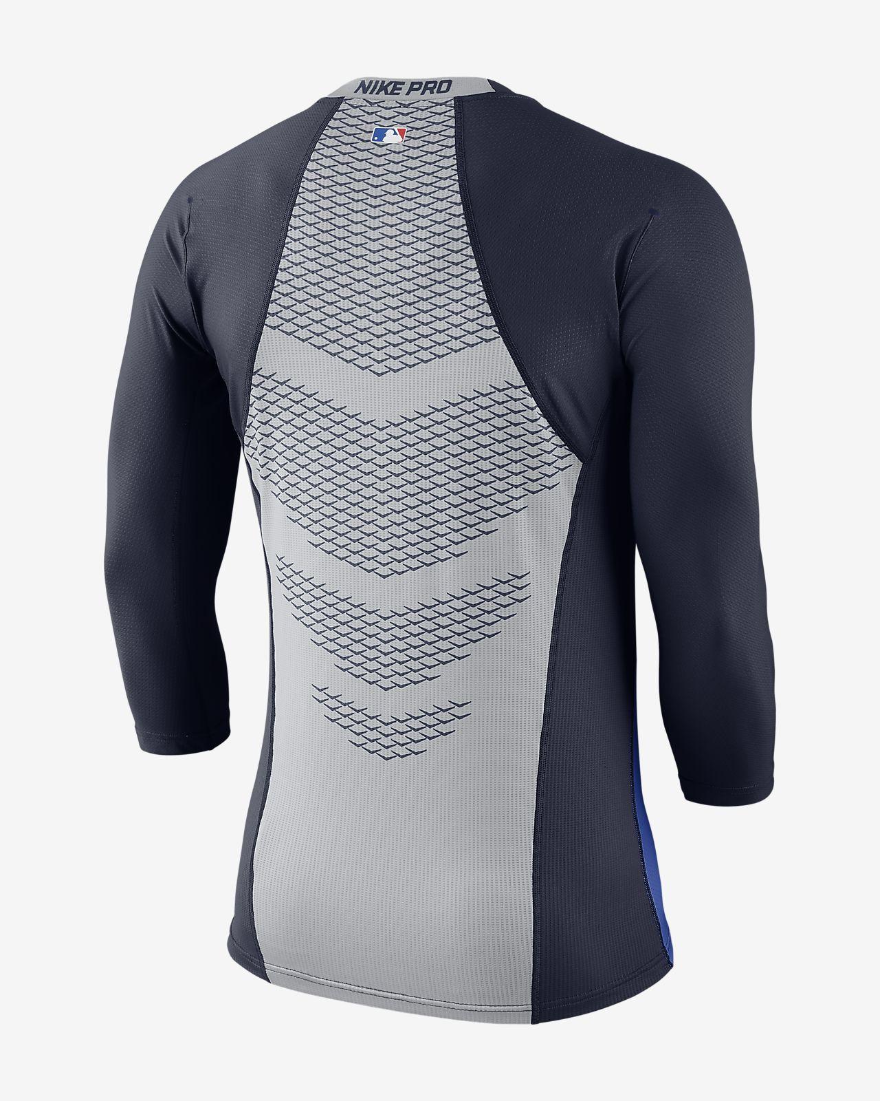 Nike Pro HyperCool (MLB Red Sox) Men's 3/4 Sleeve Top