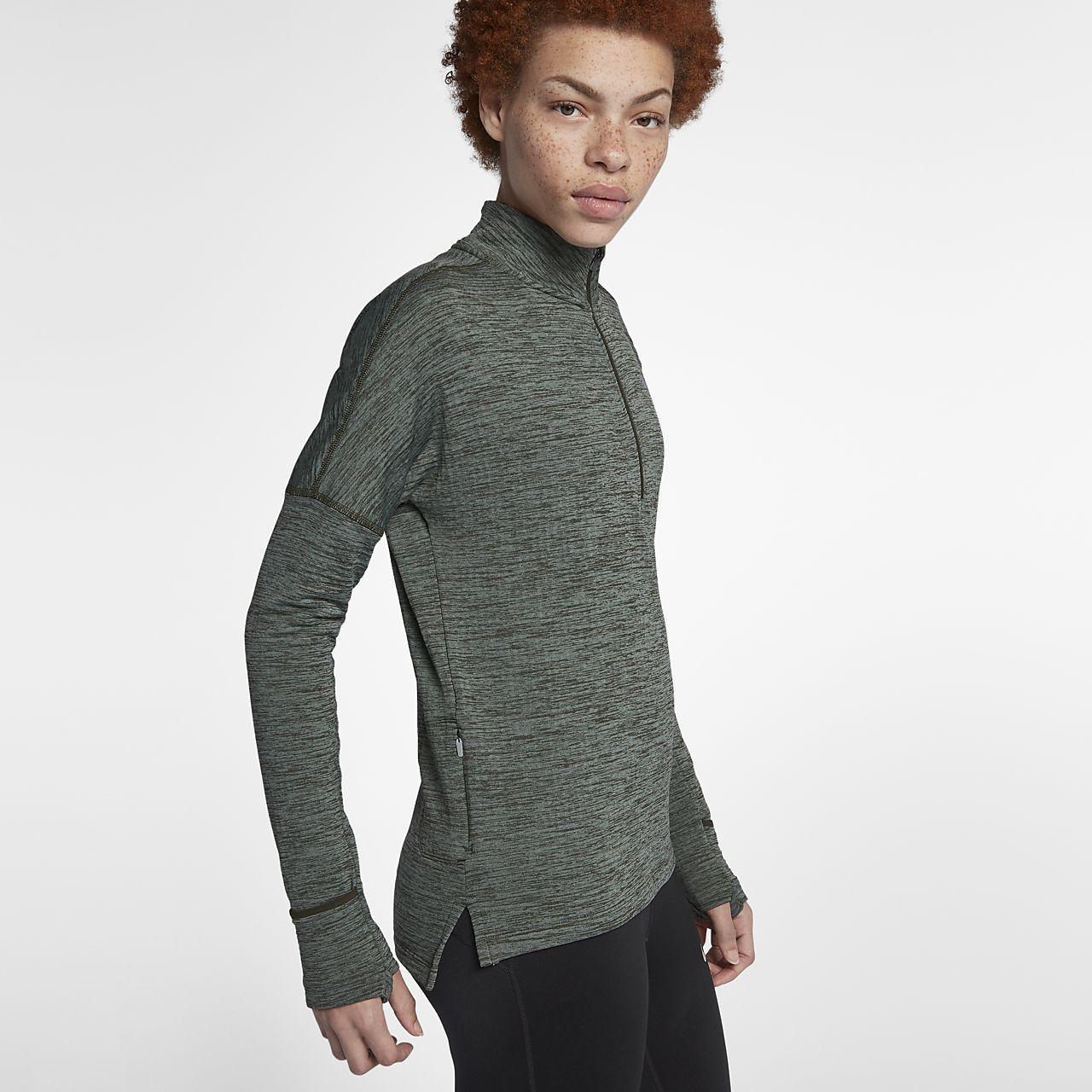 ... Nike Therma-Sphere Element Women's Long-Sleeve Running Half-Zip Top