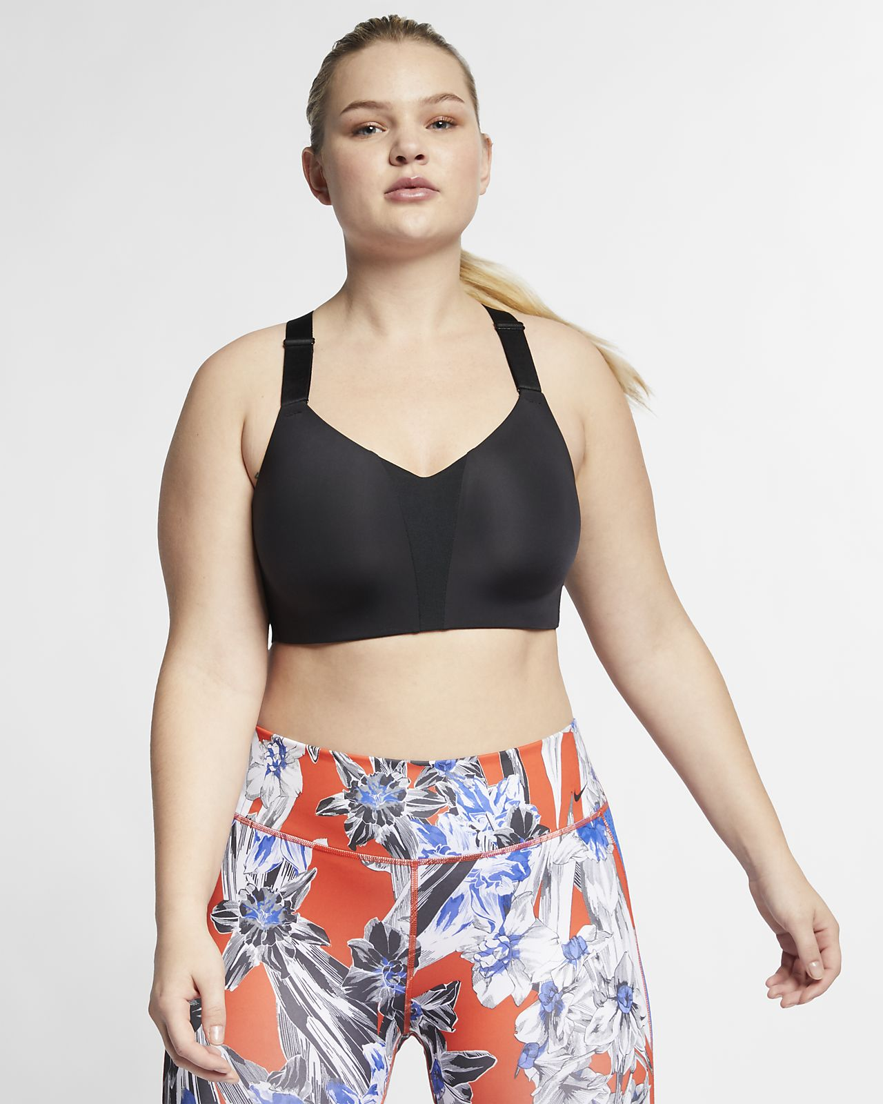Nike Rival Women's High-Support Underwire Sports Bra (Plus Size)