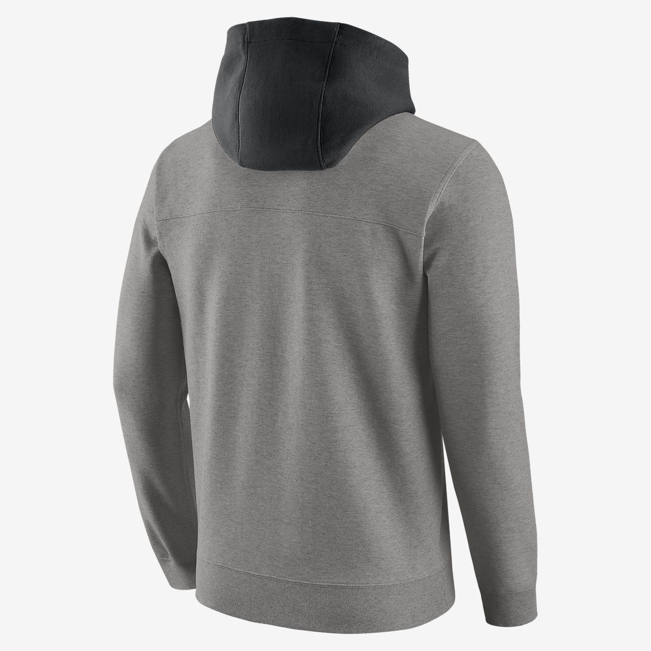 Sweat à capuche Nike Sportswear Gris ChinéNoir