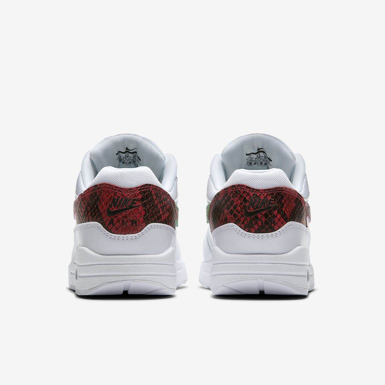 damesschoen nike air max 1 premium animal