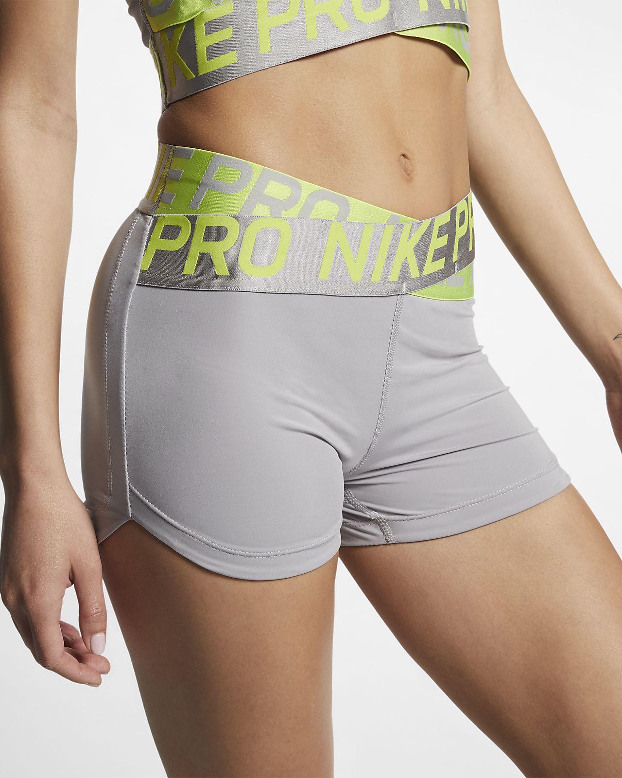 Nike Pro Intertwist Damenshorts (ca. 8 cm)