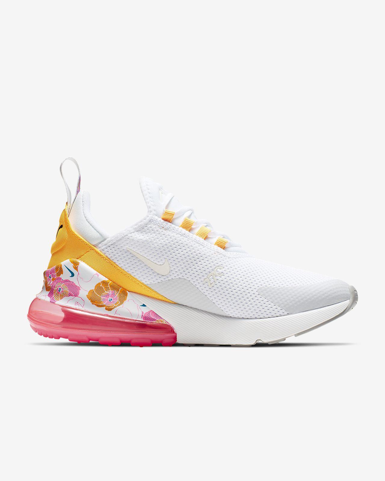 "Clearance 2019 Nike Air Max 270 SE ""Floral Heel"" Black"