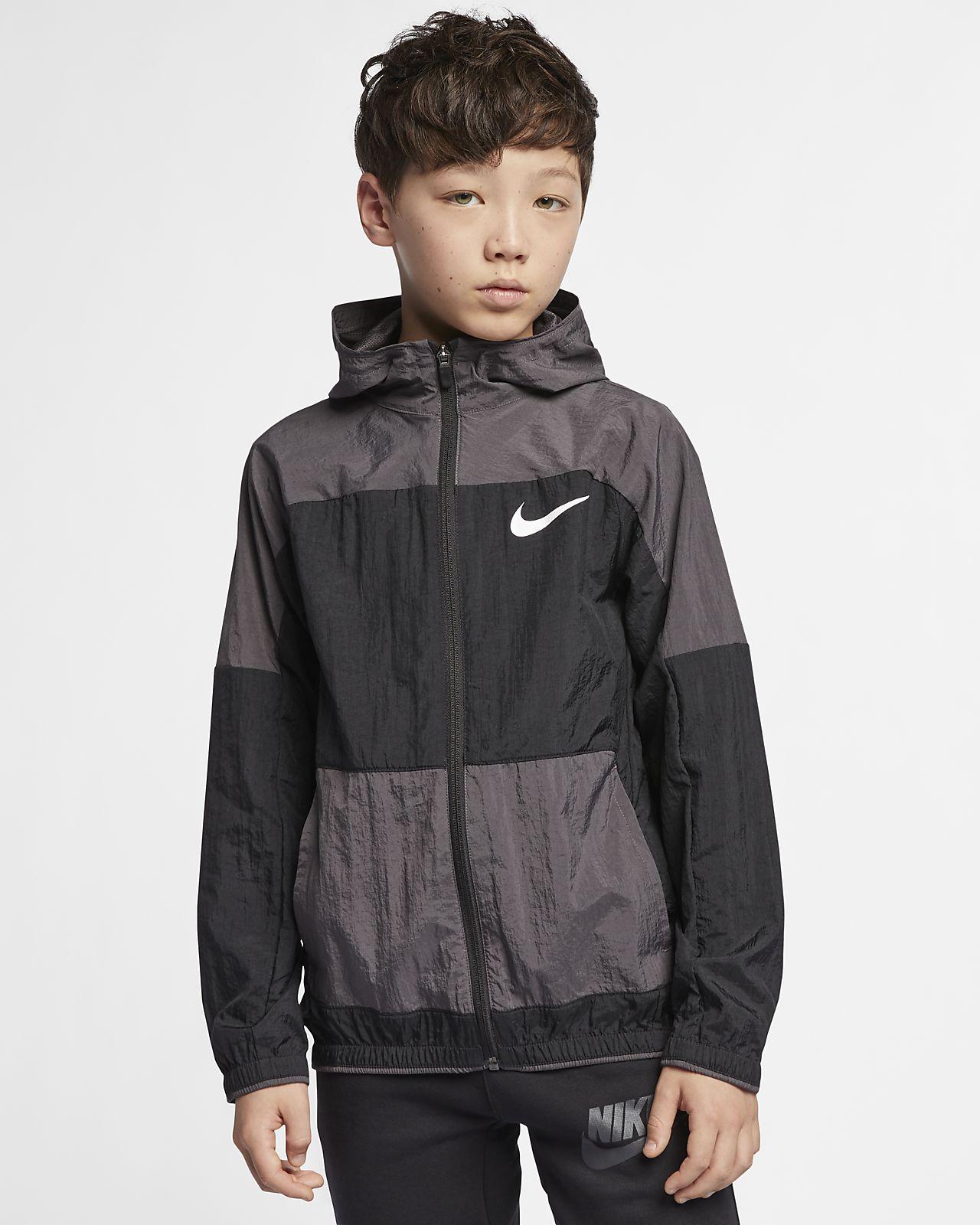 2ecc53caf Nike Dri-FIT Chaqueta de entrenamiento de tejido Woven - Niño a ...