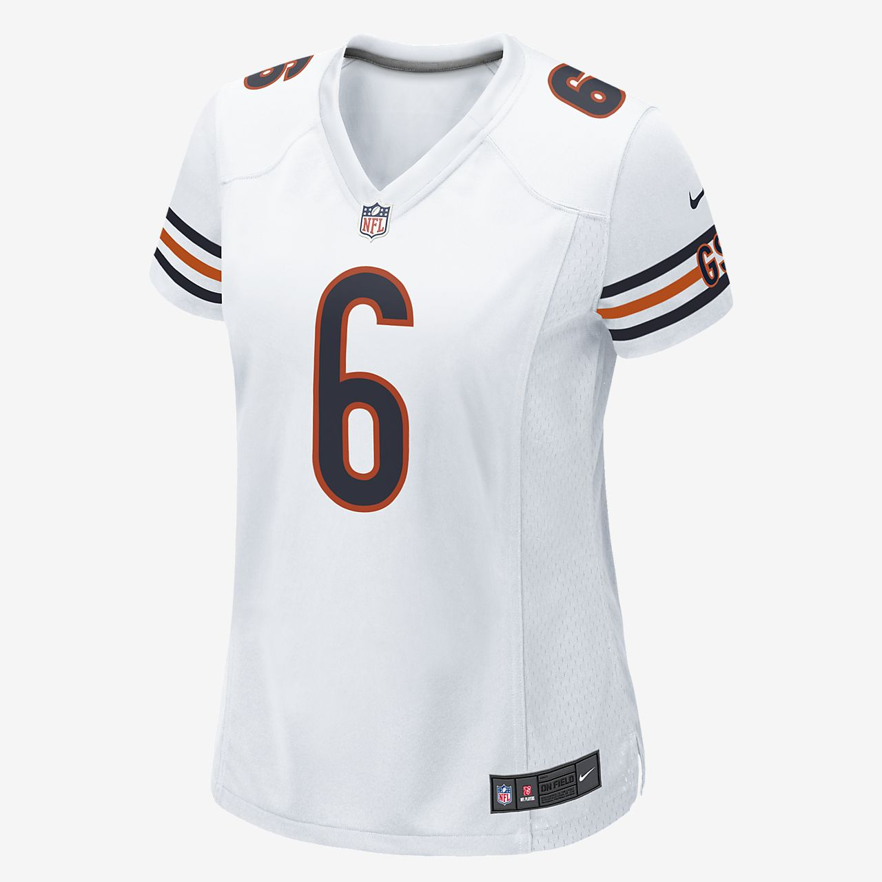 Nike NFL Chicago Bears Jay Cutler Women's Game Jersey
