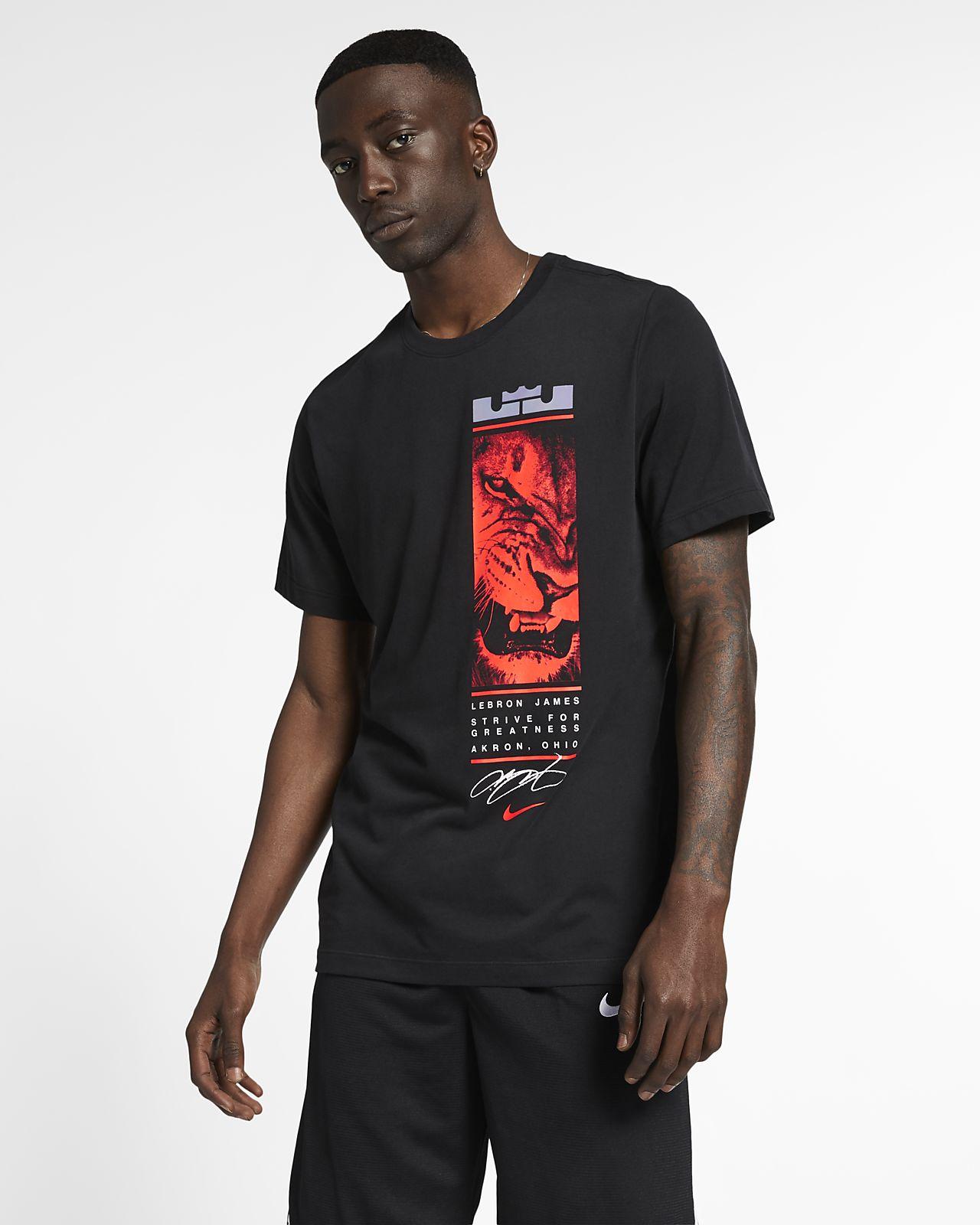d66c08f5b Nike Dri-FIT LeBron Men's T-Shirt. Nike.com ZA