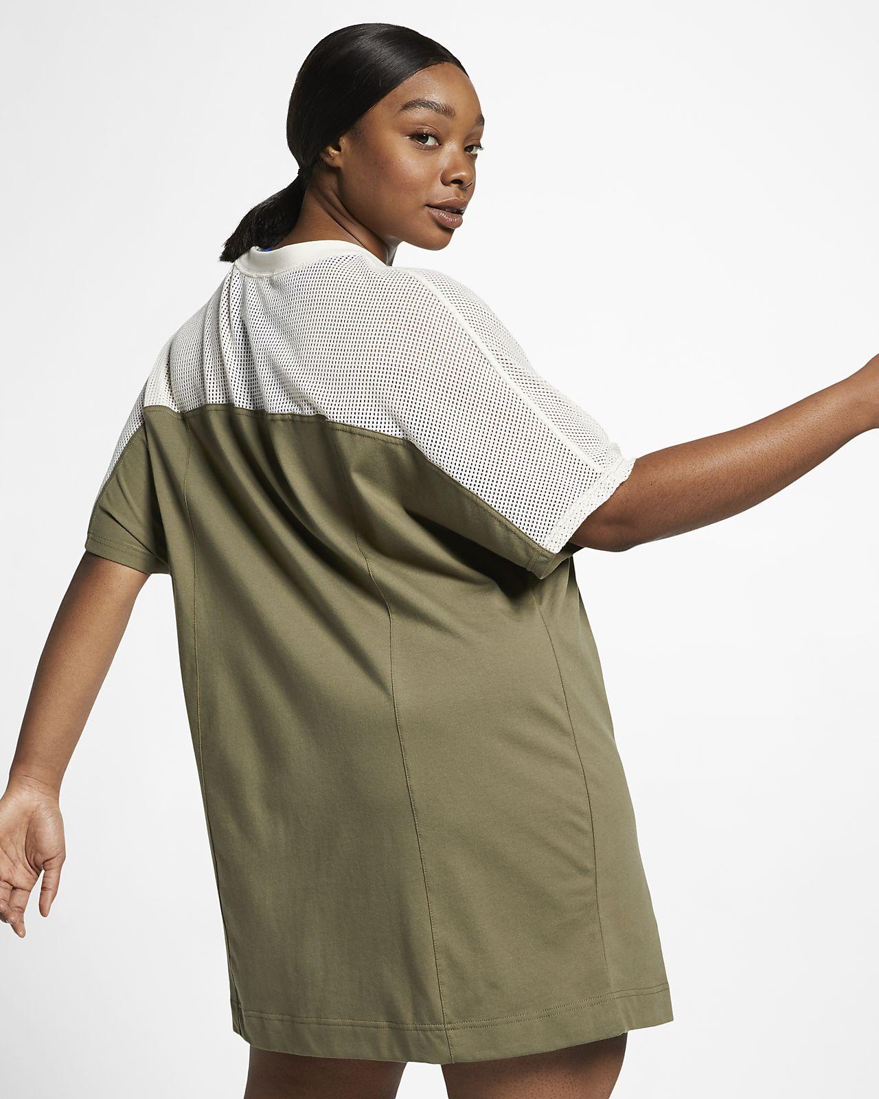 Nike Sportswear Women\'s Mesh Dress (Plus Size). Nike.com