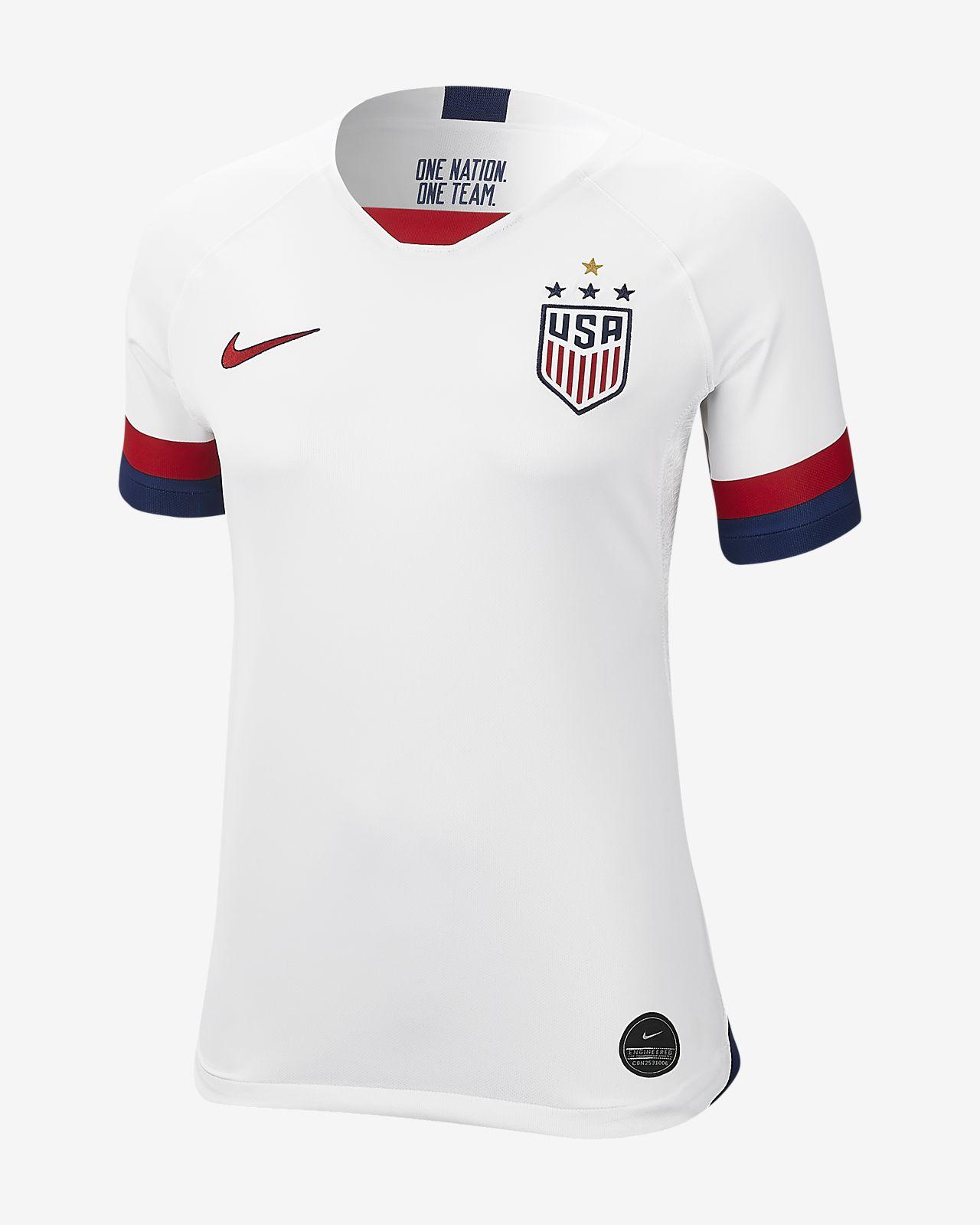 Fotbollströja U.S. 2019 Stadium Home (4-Star) för kvinnor