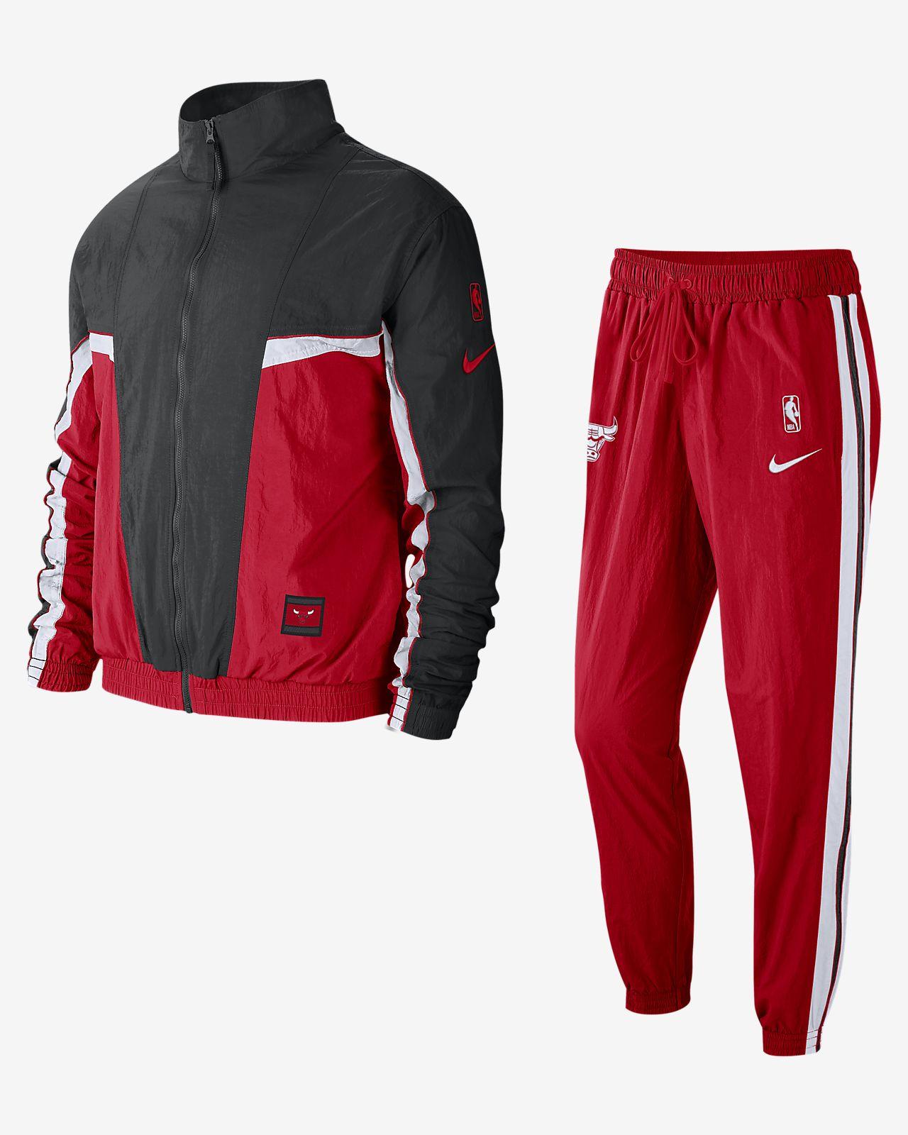Męski dres NBA Chicago Bulls Nike
