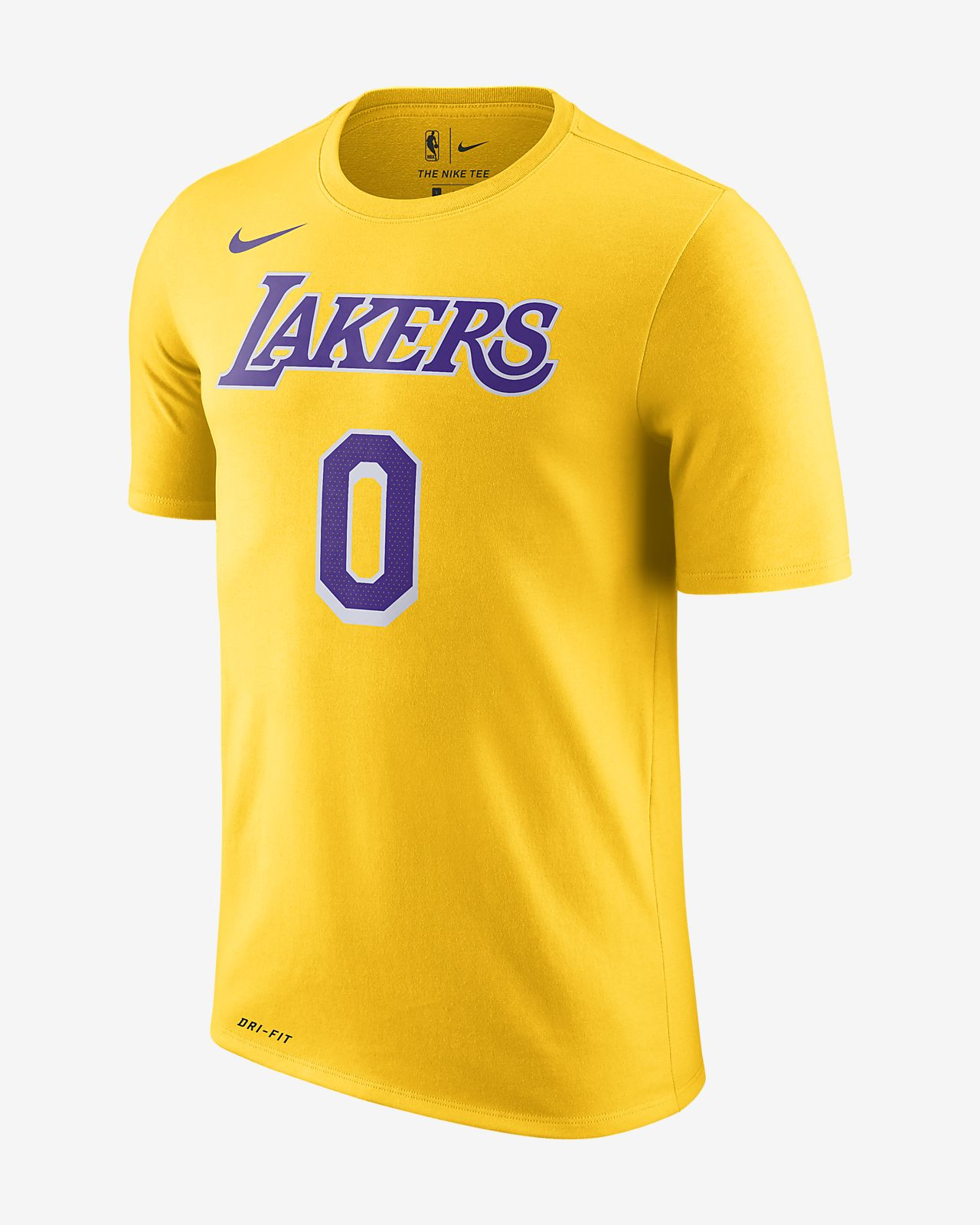 洛杉矶湖人队 Nike Dri-FIT 男子 NBA T恤