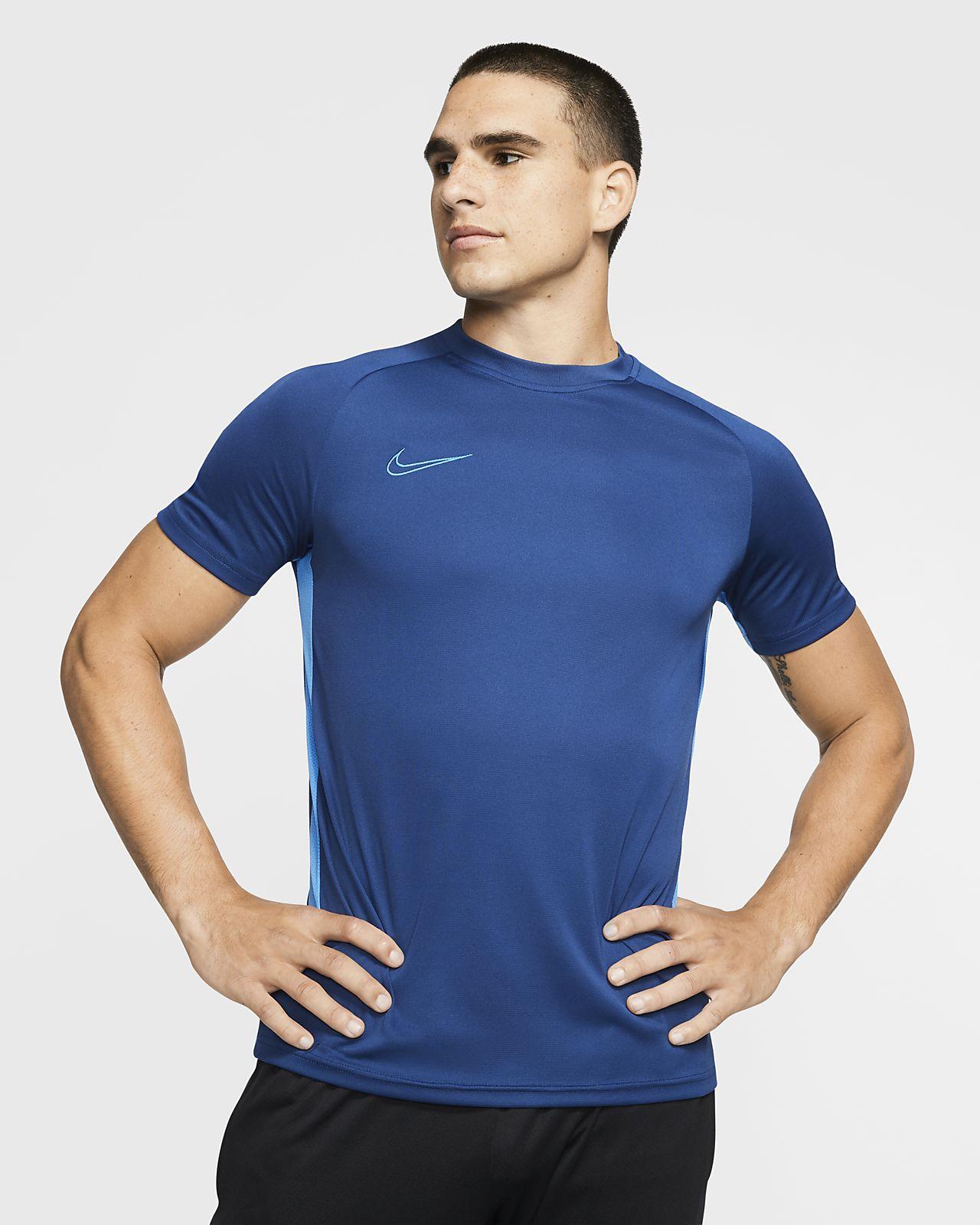 Prenda superior de fútbol de manga corta para hombre Nike Dri-FIT Academy