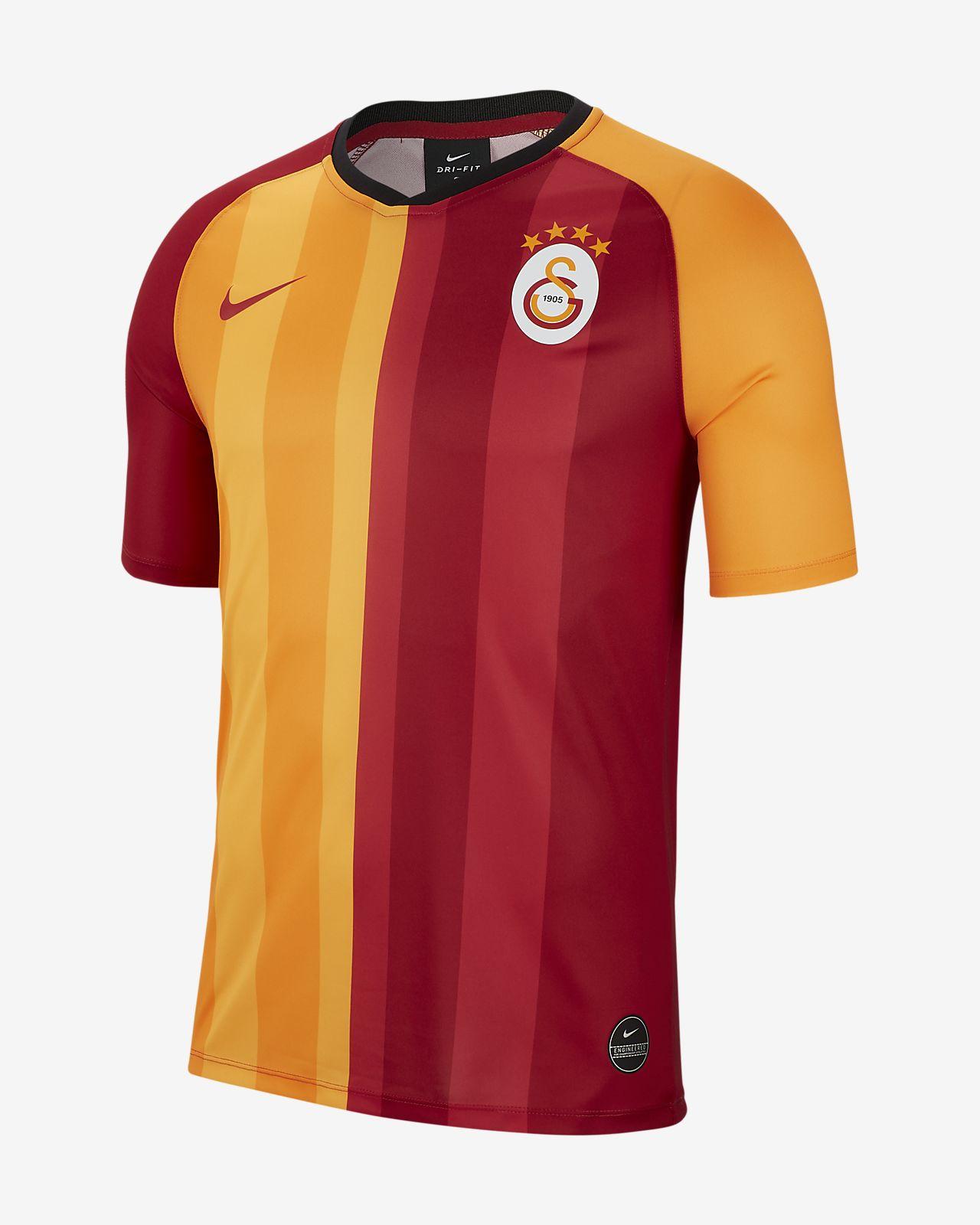 Galatasaray 2019/20 Home Voetbaltop met korte mouwen voor heren