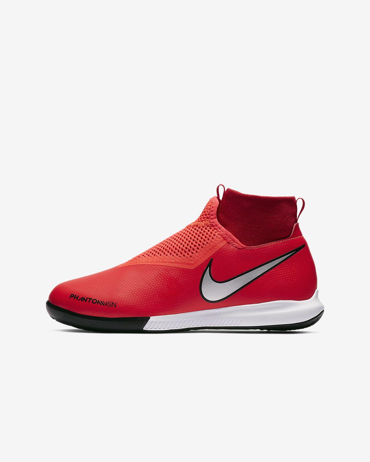 Fotbollssko för inomhusplan futsal street Nike Jr. PhantomVSN Academy  Dynamic Fit IC för fd45e119dae34