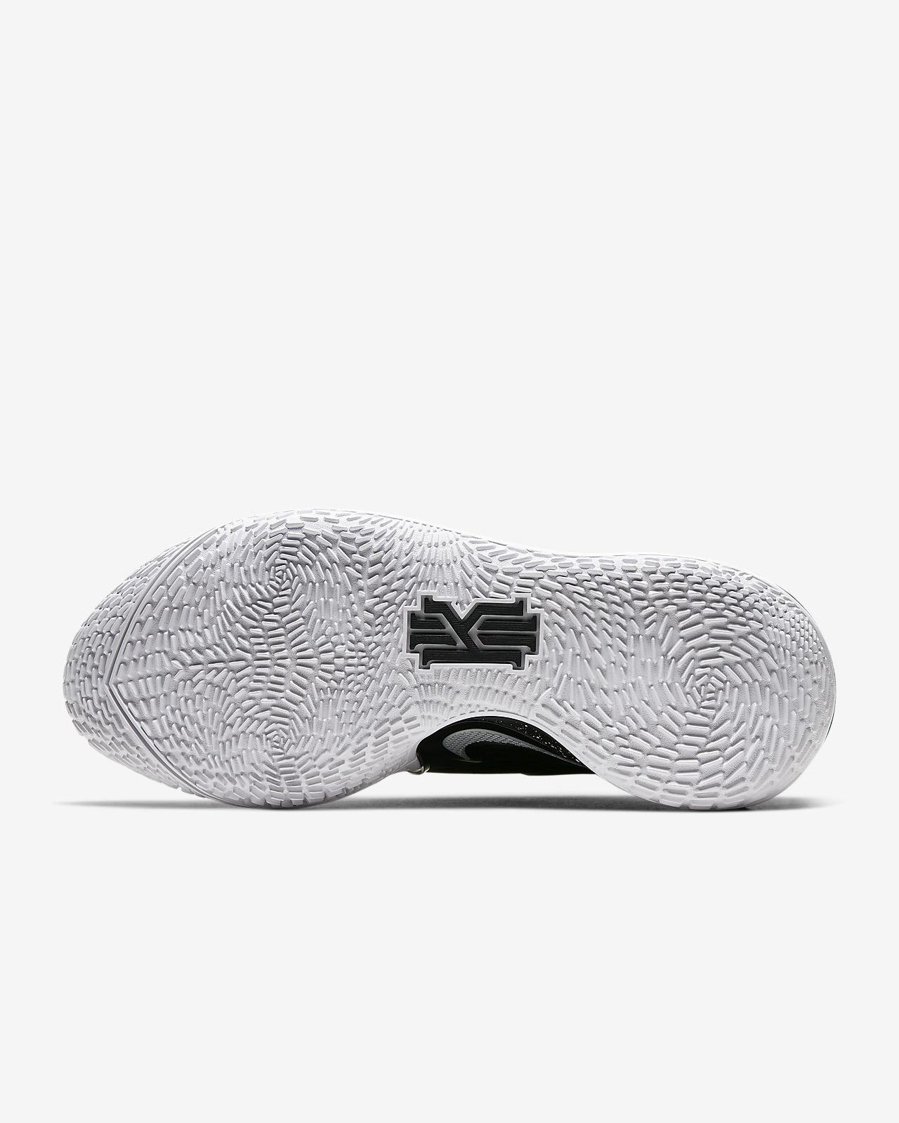 Herren Nike Kyrie 2 Schwarz Metallic Silber Basketballschuhe