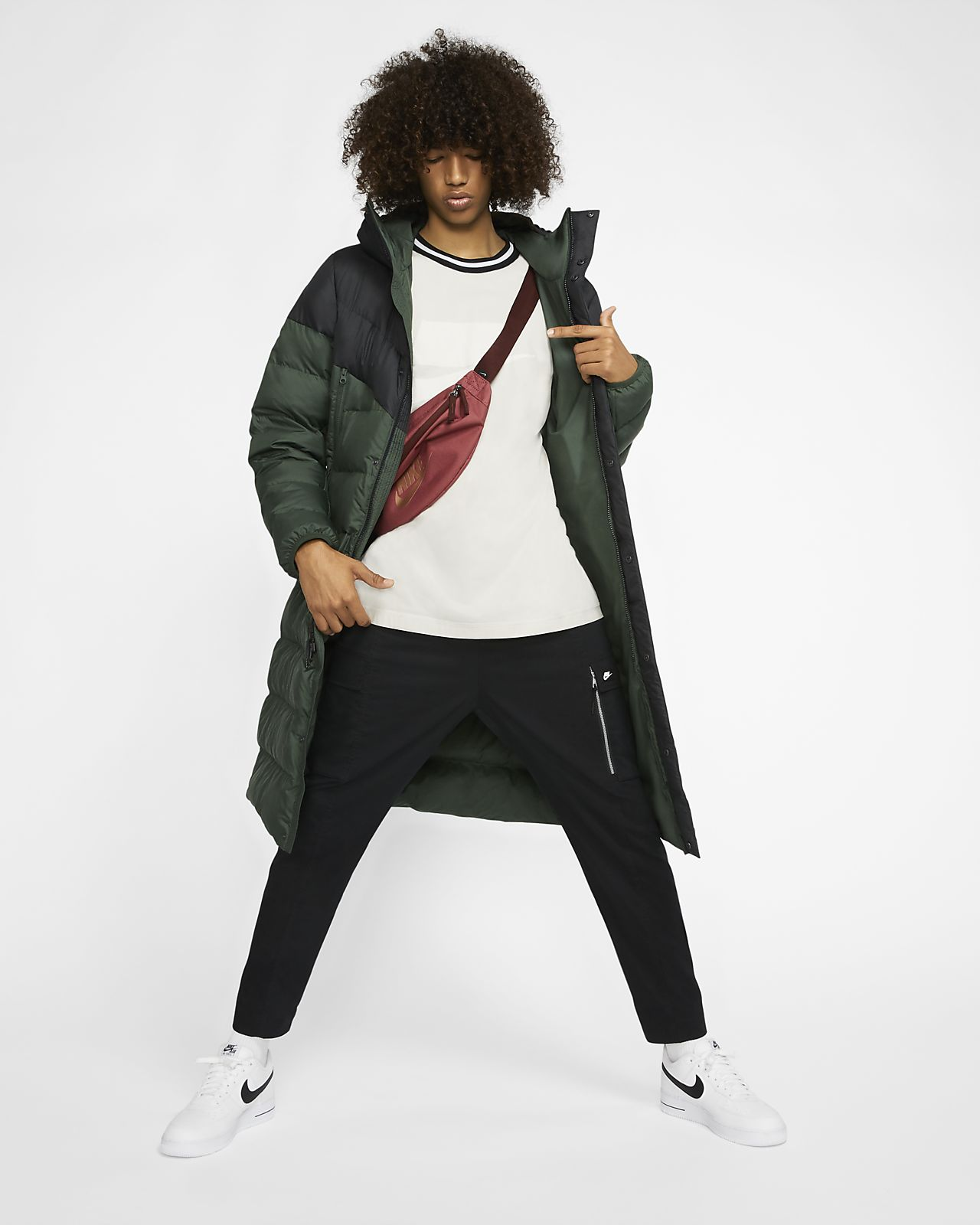 Parka à capuche Nike Sportswear Windrunner Down Fill pour Homme