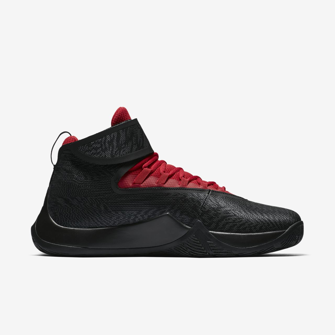 black nike jordan basketball shoes