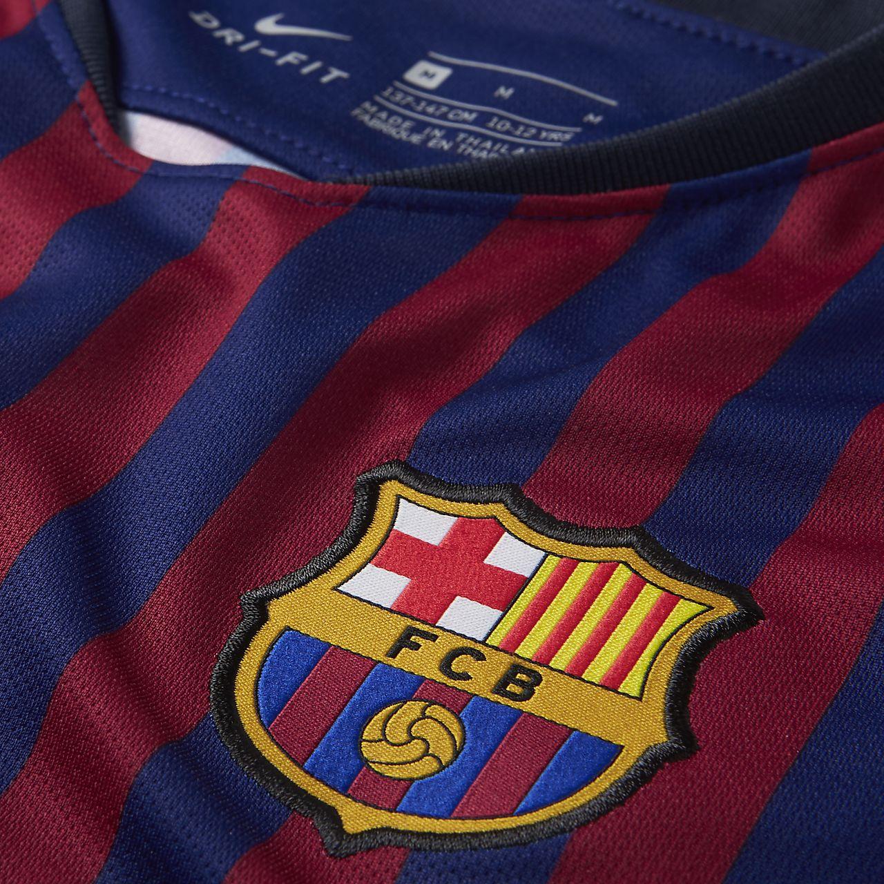 c57aa6094c7 2018 19 FC Barcelona Stadium Home Men s Soccer Jersey. Nike.com