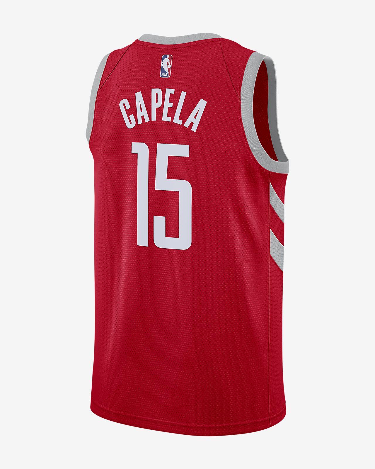 ea6f416519a ... Clint Capela Icon Edition Swingman (Houston Rockets) Men s Nike NBA  Connected Jersey