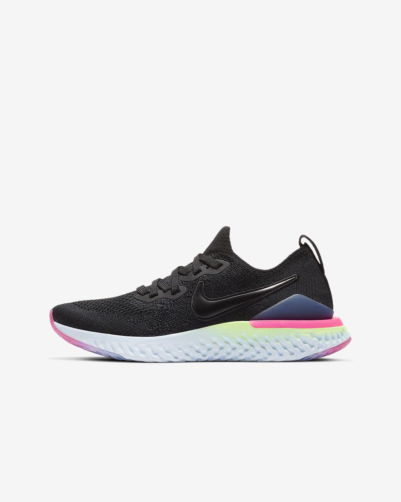 Беговые кроссовки для школьников Nike Epic React Flyknit 2