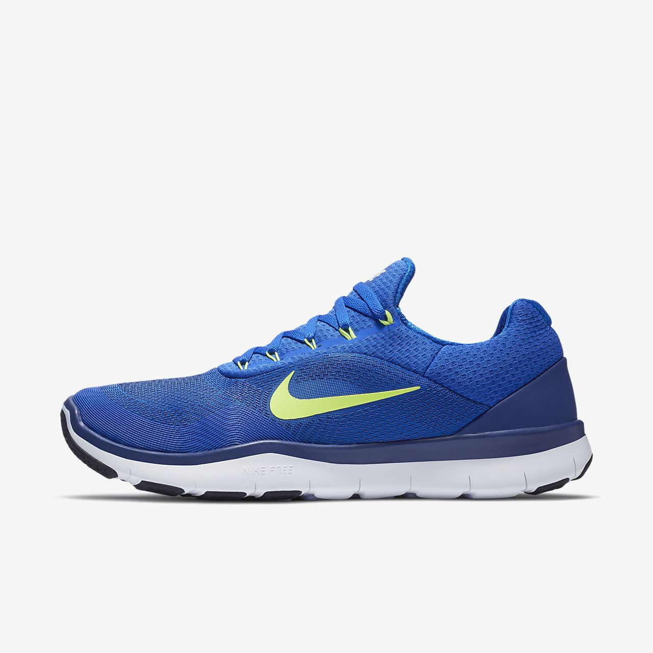 Men's Nike Free Trainer 3.0 Hyper Blue Volt Sneakers : K55p1799