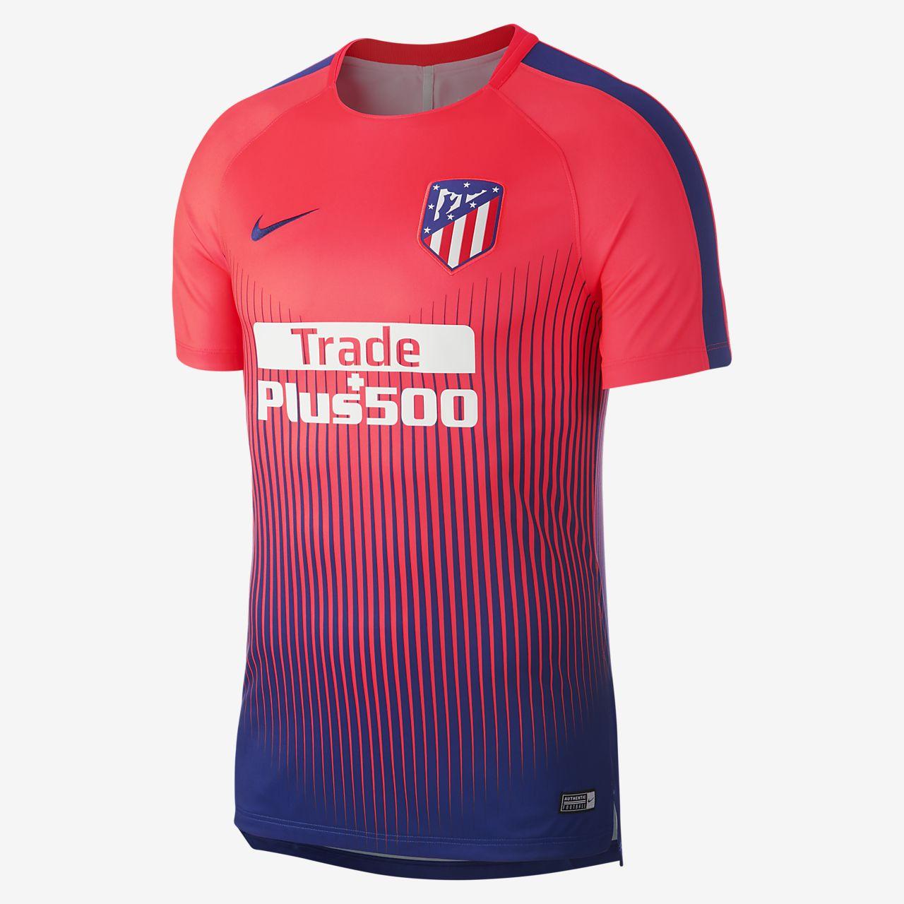 0c74b8fff422a Top de fútbol para hombre Atlético de Madrid Dri-FIT Squad. Nike.com MX