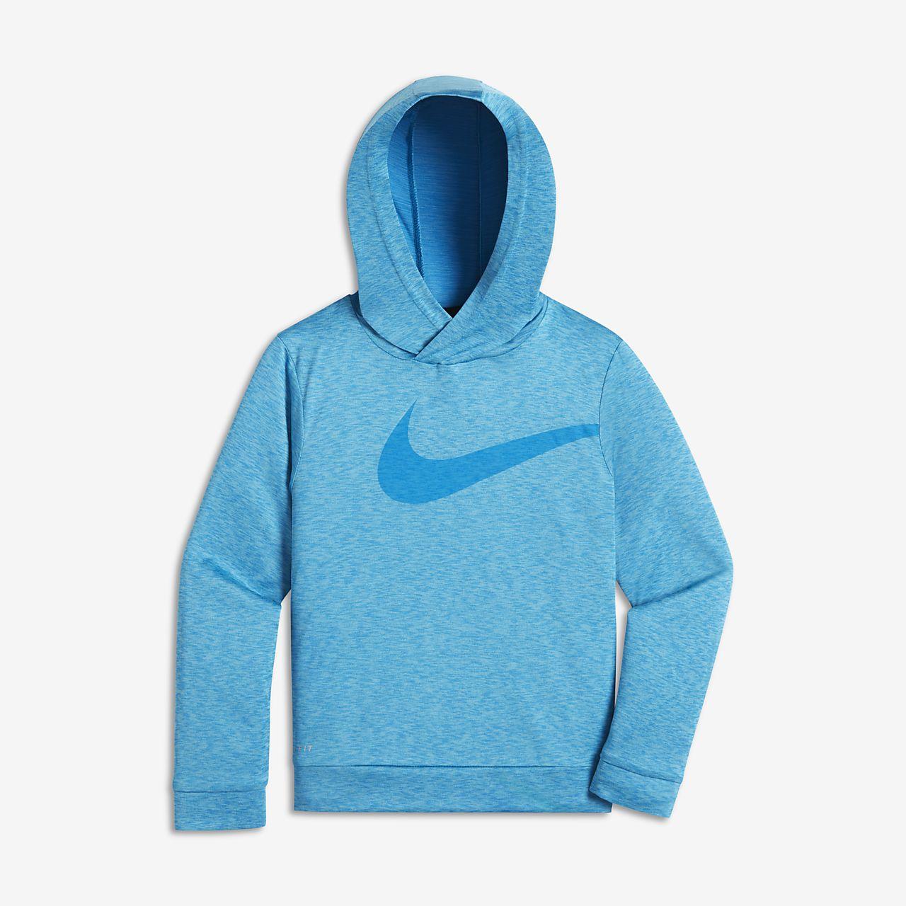Nike Dry Swoosh kapucnis pulóver gyerekeknek (fiúk)
