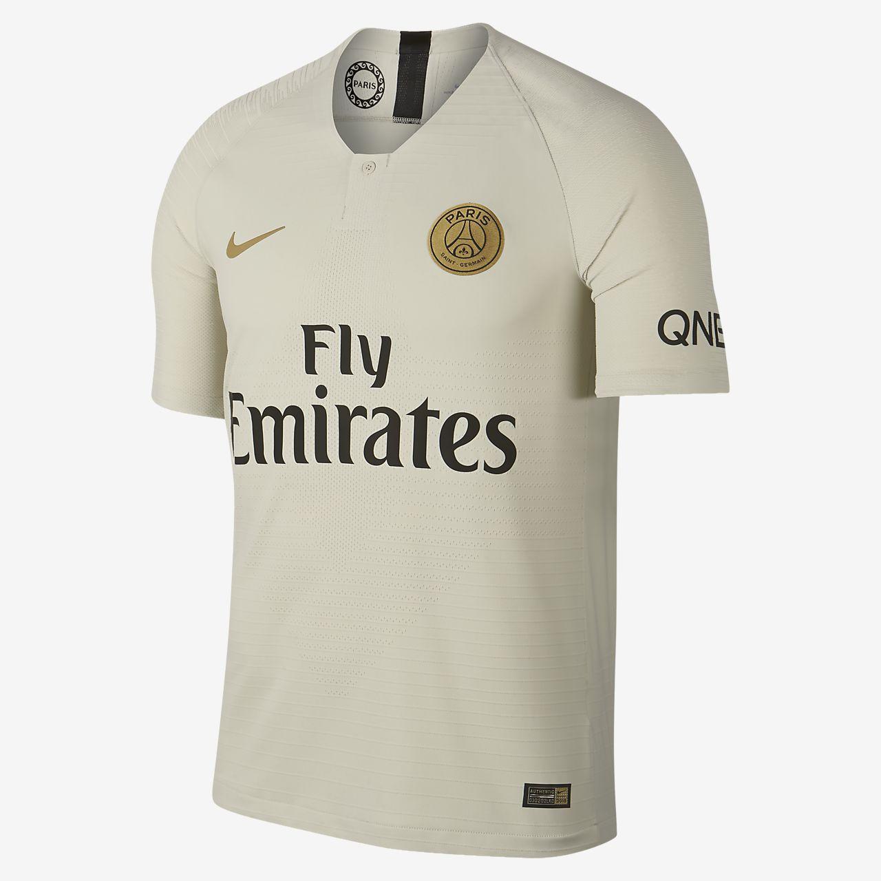 Camiseta de fútbol para hombre de visitante Vapor Match del Paris Saint-Germain 2018/19