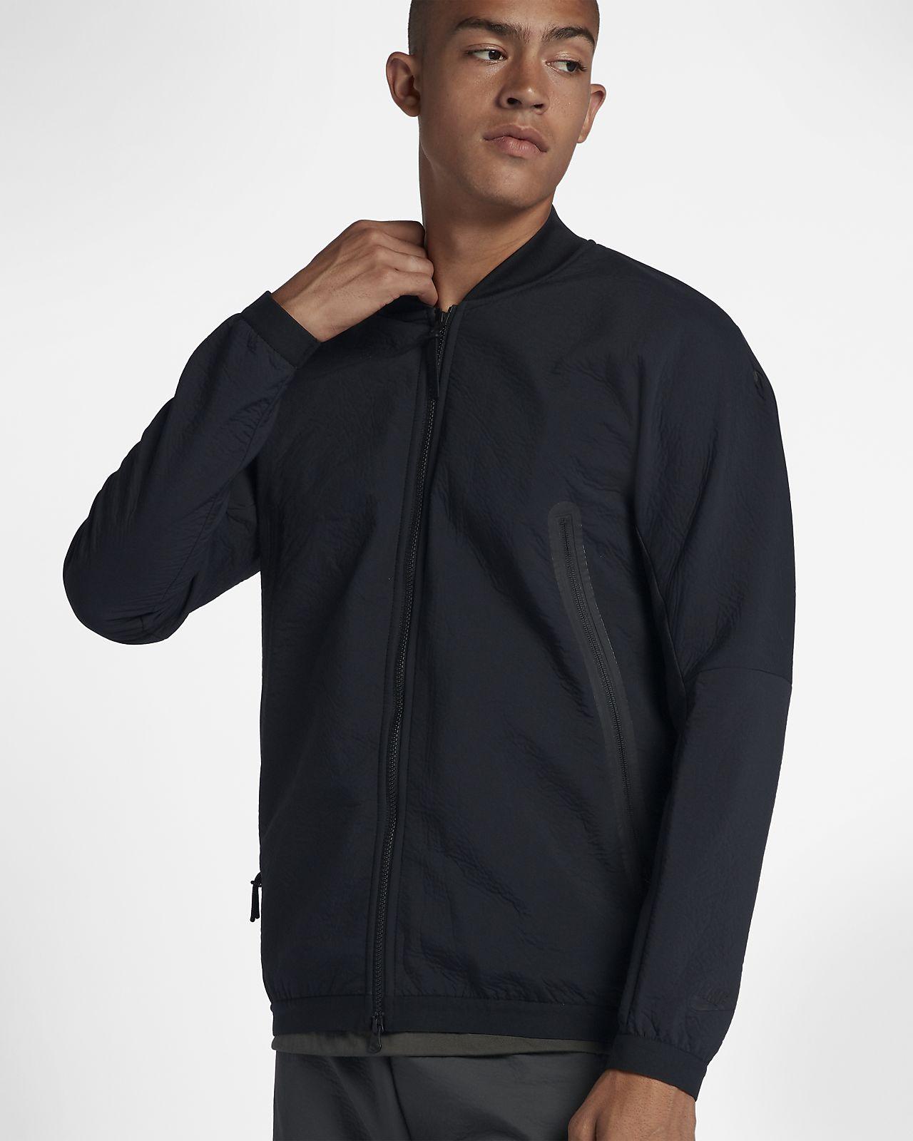 Träningsjacka i vävt material Nike Sportswear Tech Pack