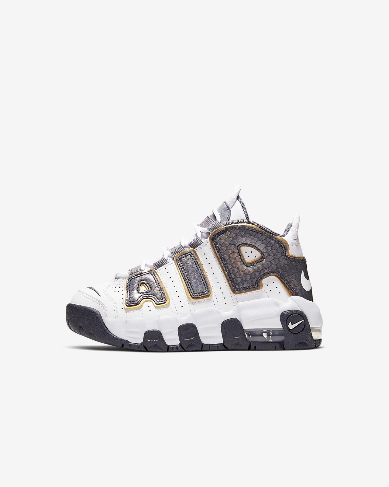Кроссовки для дошкольников Nike Air More Uptempo SE
