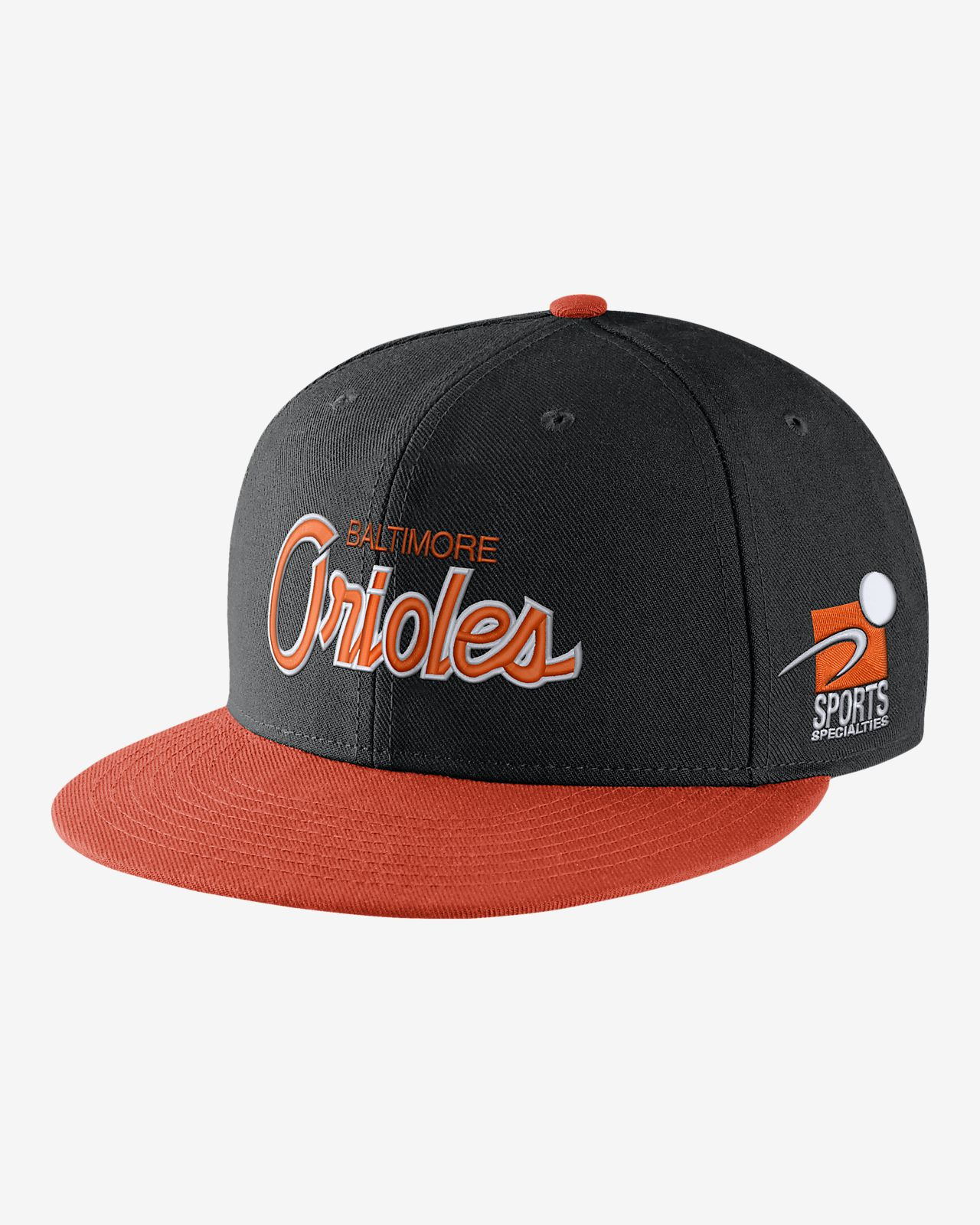 Nike Pro Sport Specialties (MLB Orioles) Adjustable Hat