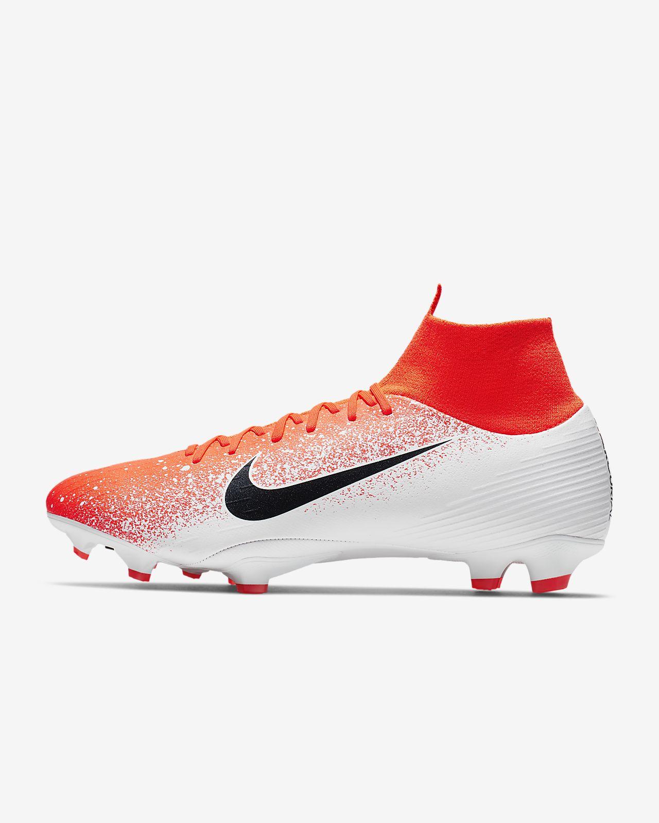 รองเท้าสตั๊ดฟุตบอลสำหรับพื้นสนามทั่วไป Nike Superfly 6 Pro FG