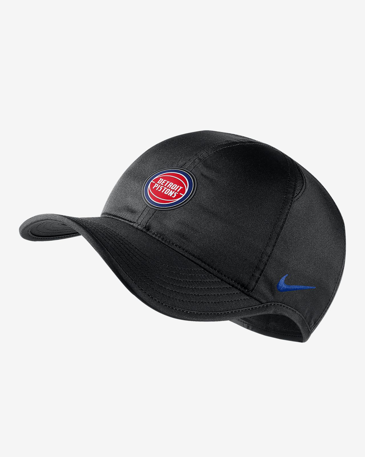 Detroit Pistons Nike AeroBill Featherlight NBA Hat. Nike.com 07c4f9a07c7