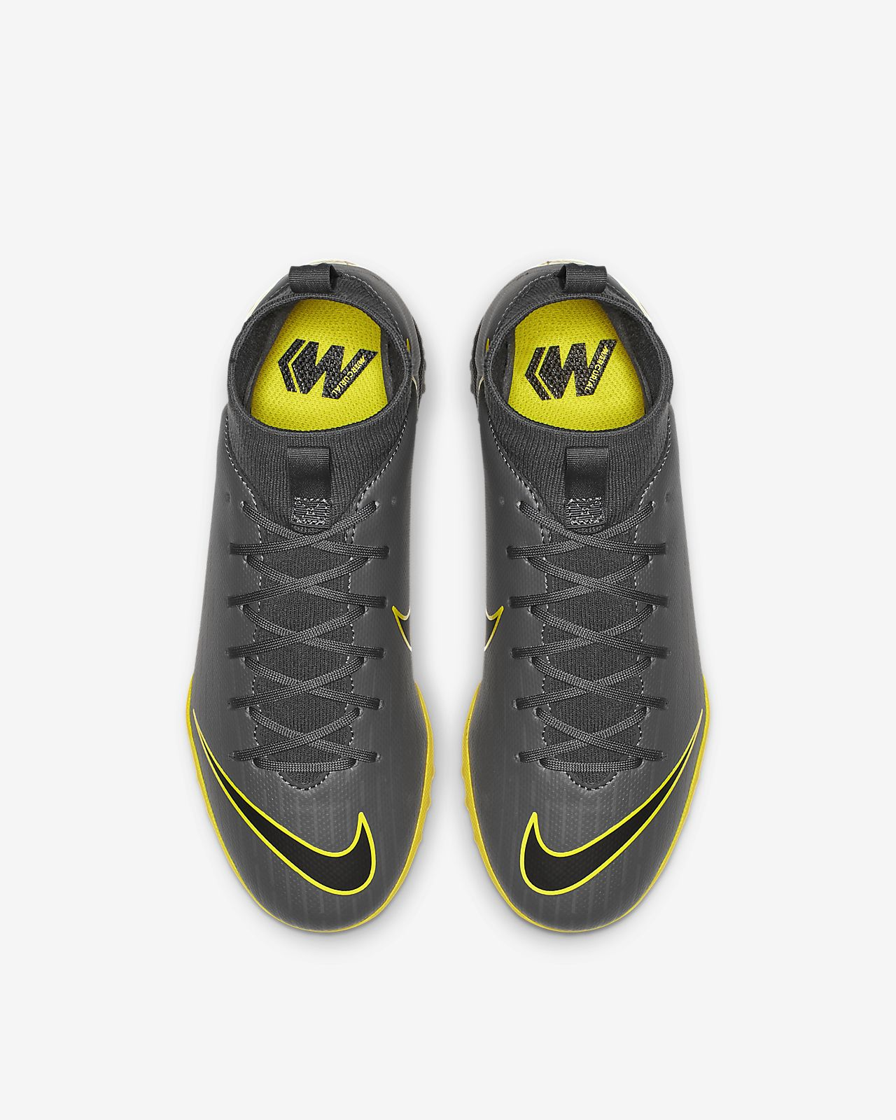 Nike Jr. Mercurial Superfly 6 Academy TF Botas de fútbol para hierba artificial o moqueta Turf Niñoa y niñoa pequeñoa