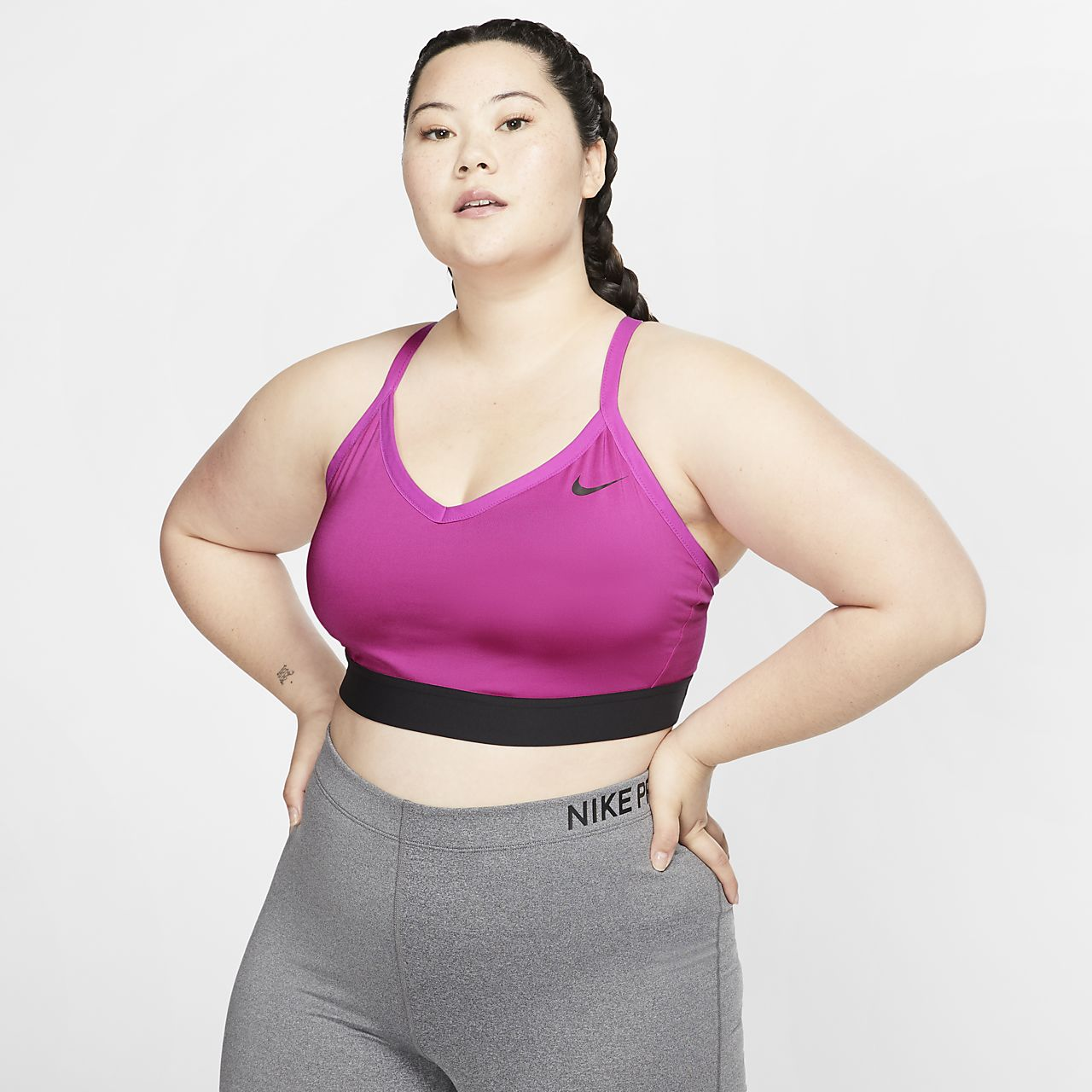 Nike Indy Women's Light-Support Sports Bra (Plus Size)