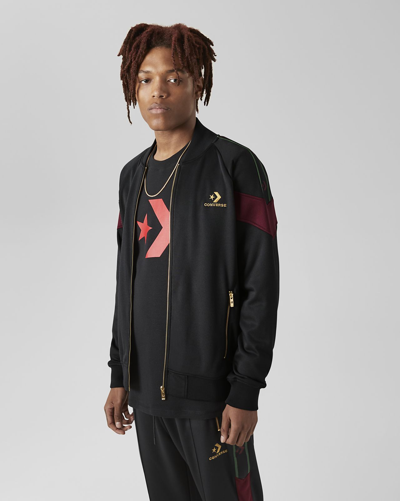 Converse Luxe Star Chevron  Men's Track Jacket