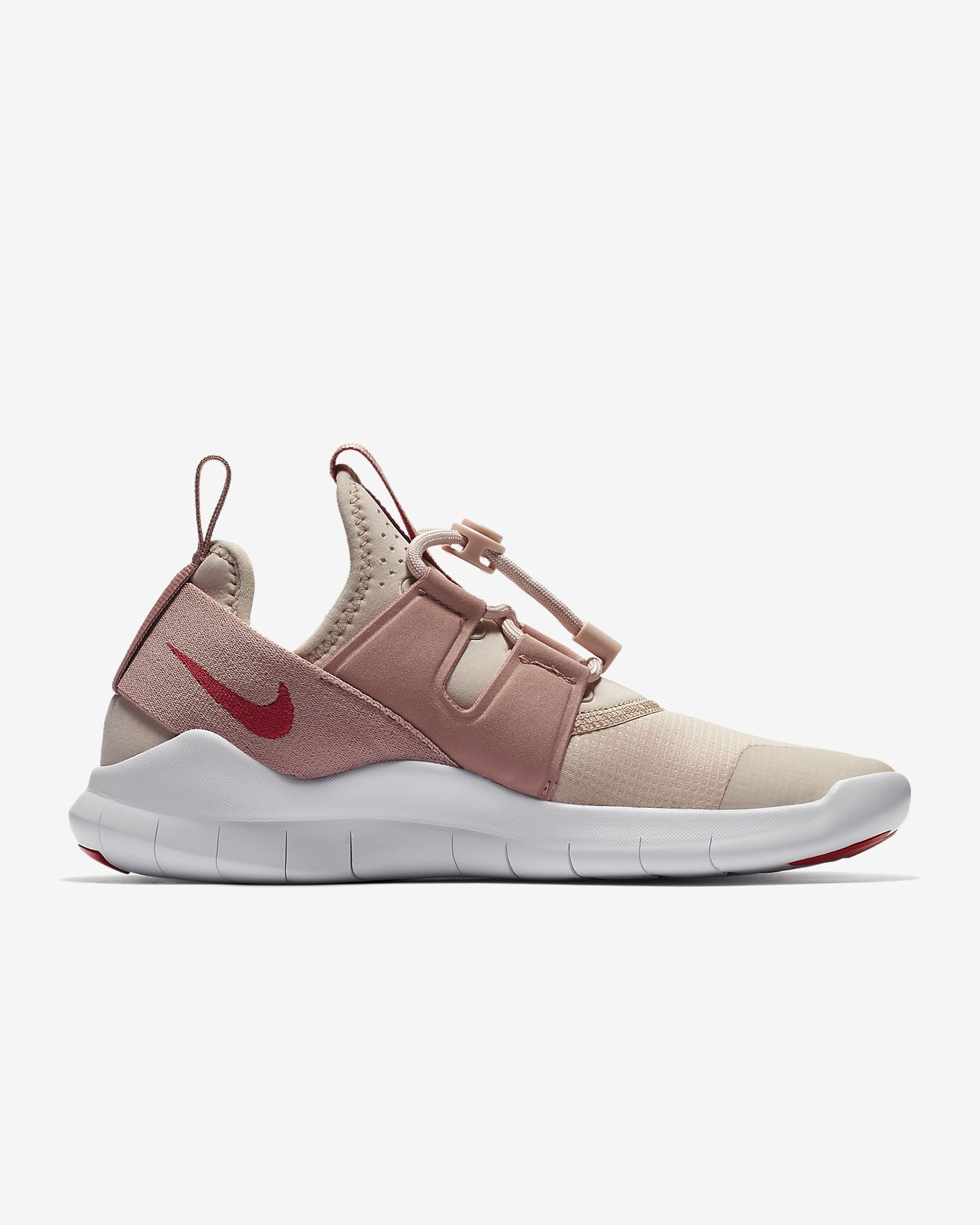 Details about Nike Free RN CMTR 2018 Running Shoes AA1621 200 Particle Beige, Pink