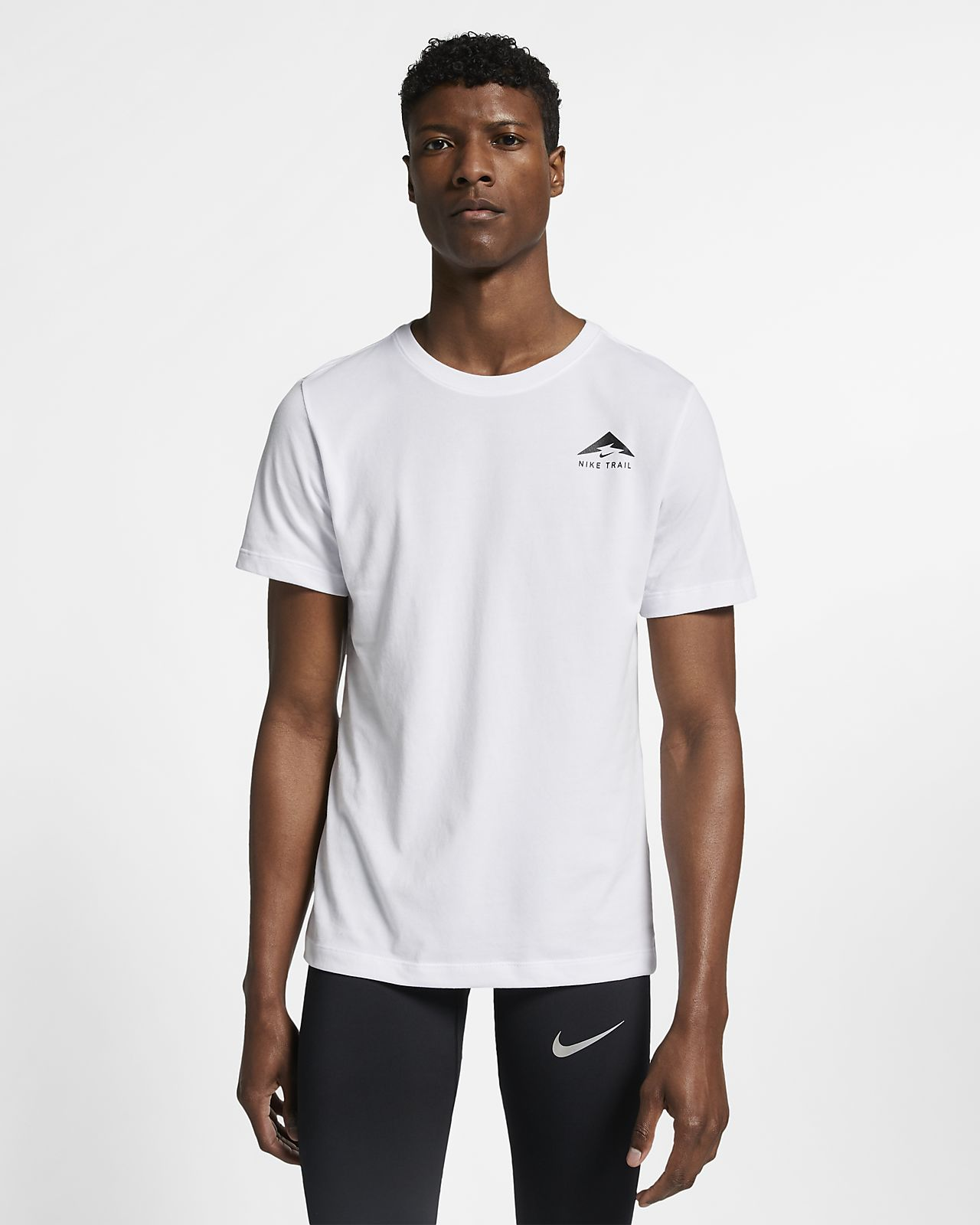 Playera de running para hombre Nike Trail Dri-FIT