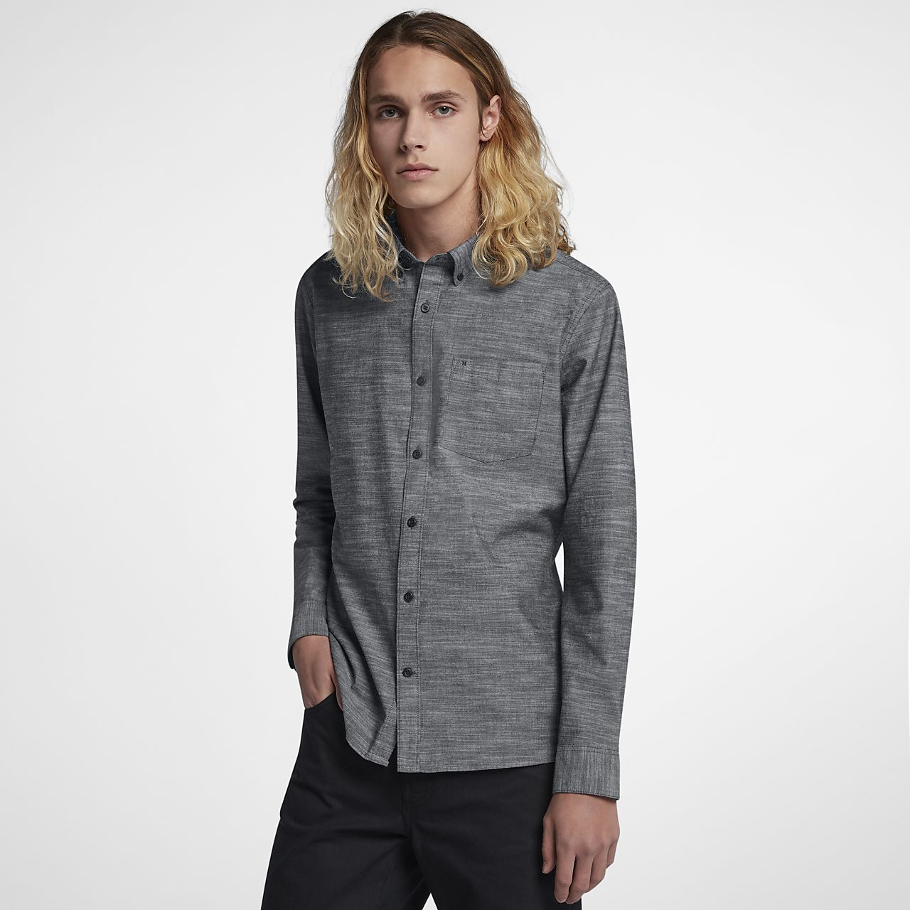 Chemise à manches longues Hurley One And Only pour Homme
