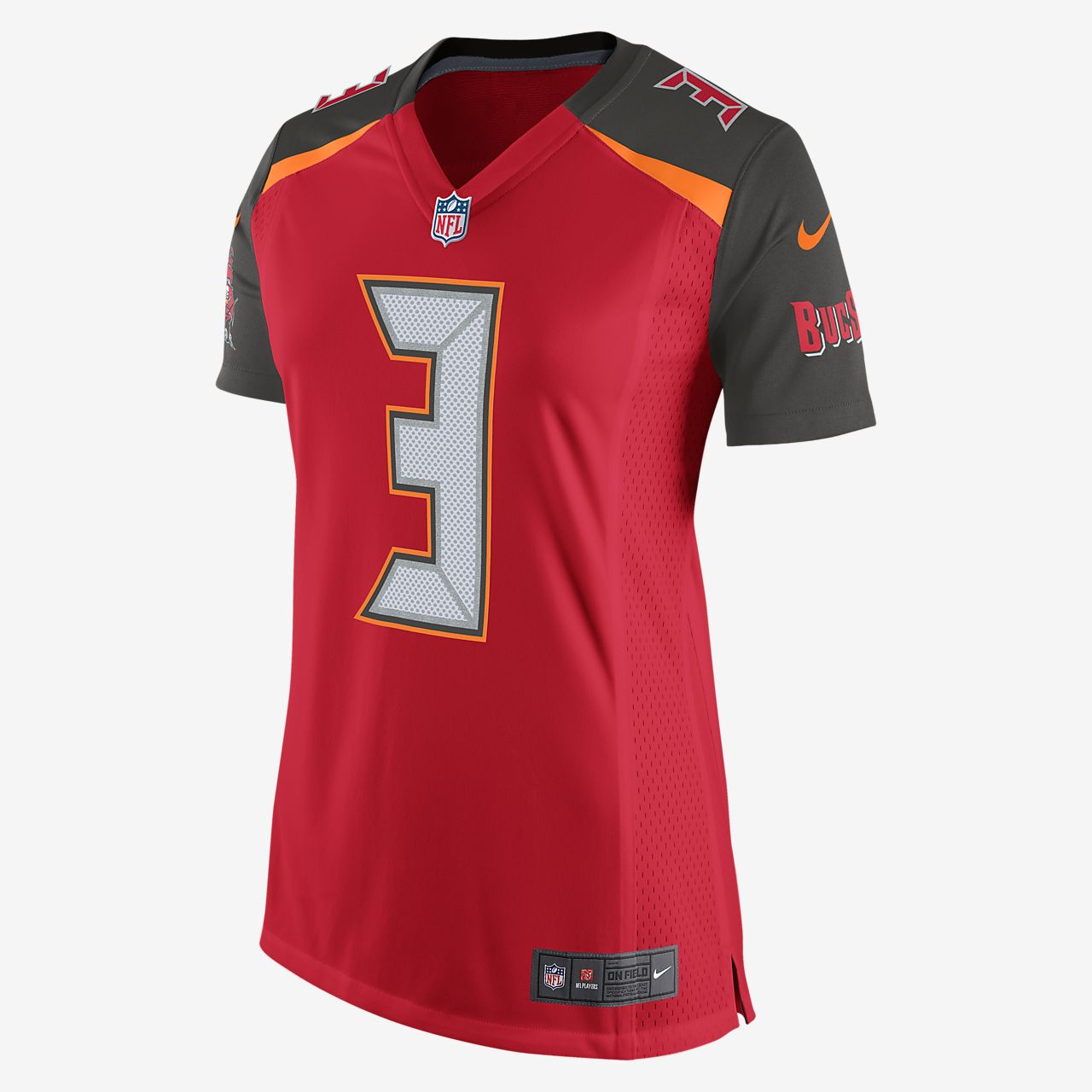 NFL Tampa Bay Buccaneers (Jameis Winston) Women s Football Home Game ... f703af5bba