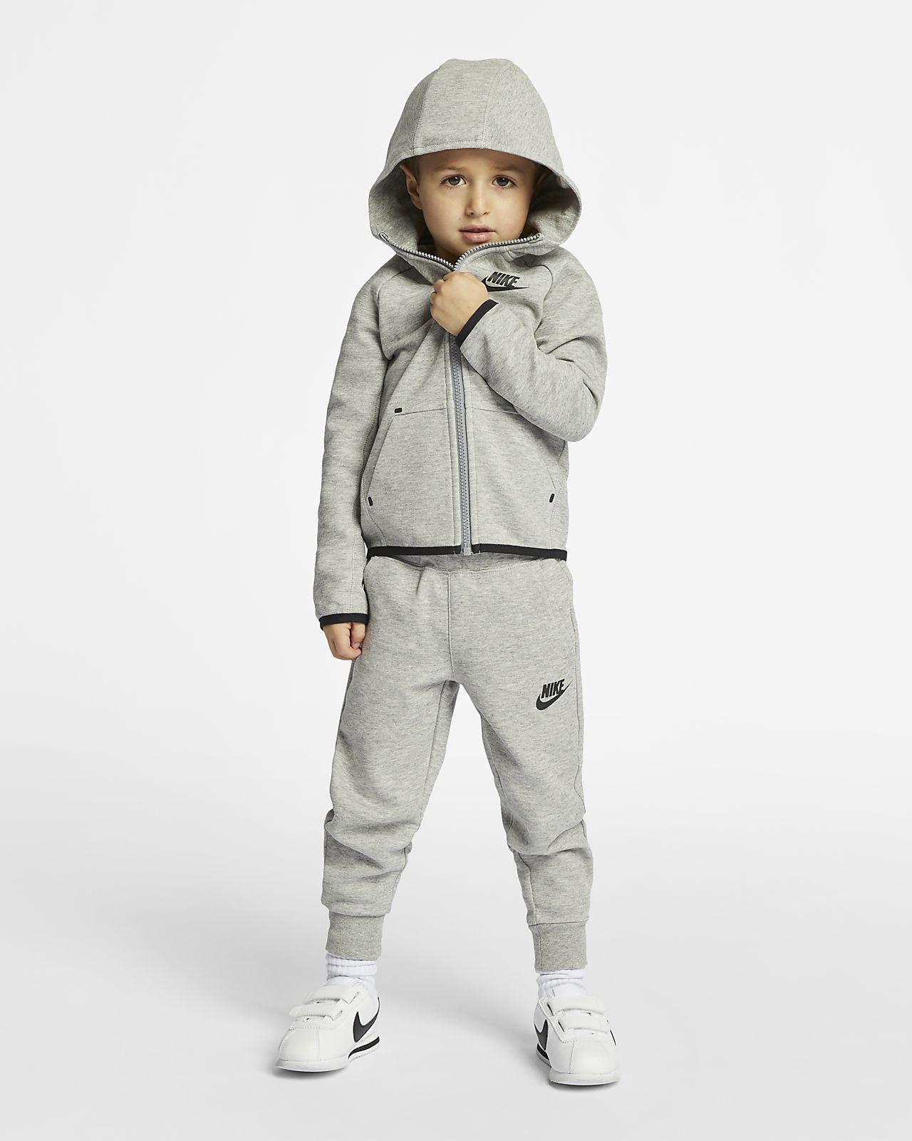 Nike Sportswear Tech Fleece Toddler Hoodie and Pants Set