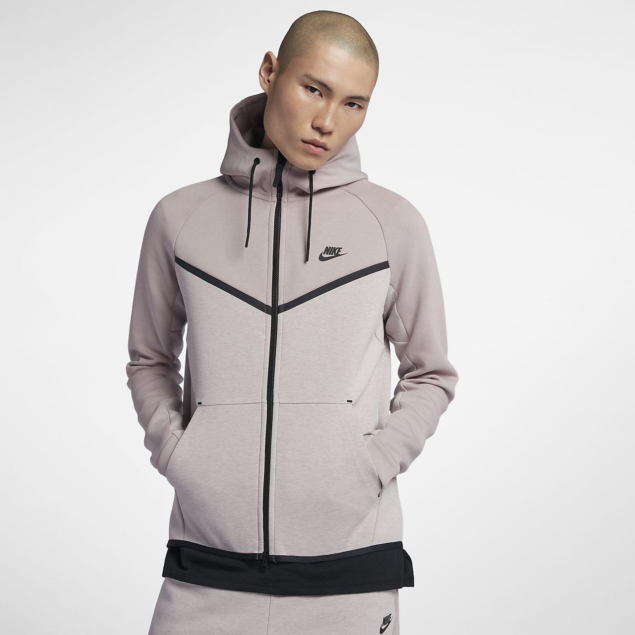 ... Felpa con cappuccio e zip a tutta lunghezza Nike Sportswear Tech Fleece  Windrunner - Uomo