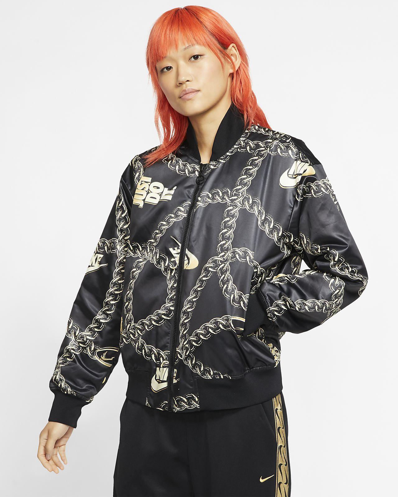 Nike Sportswear Synthetic Fill Icon Clash-jakke til kvinder