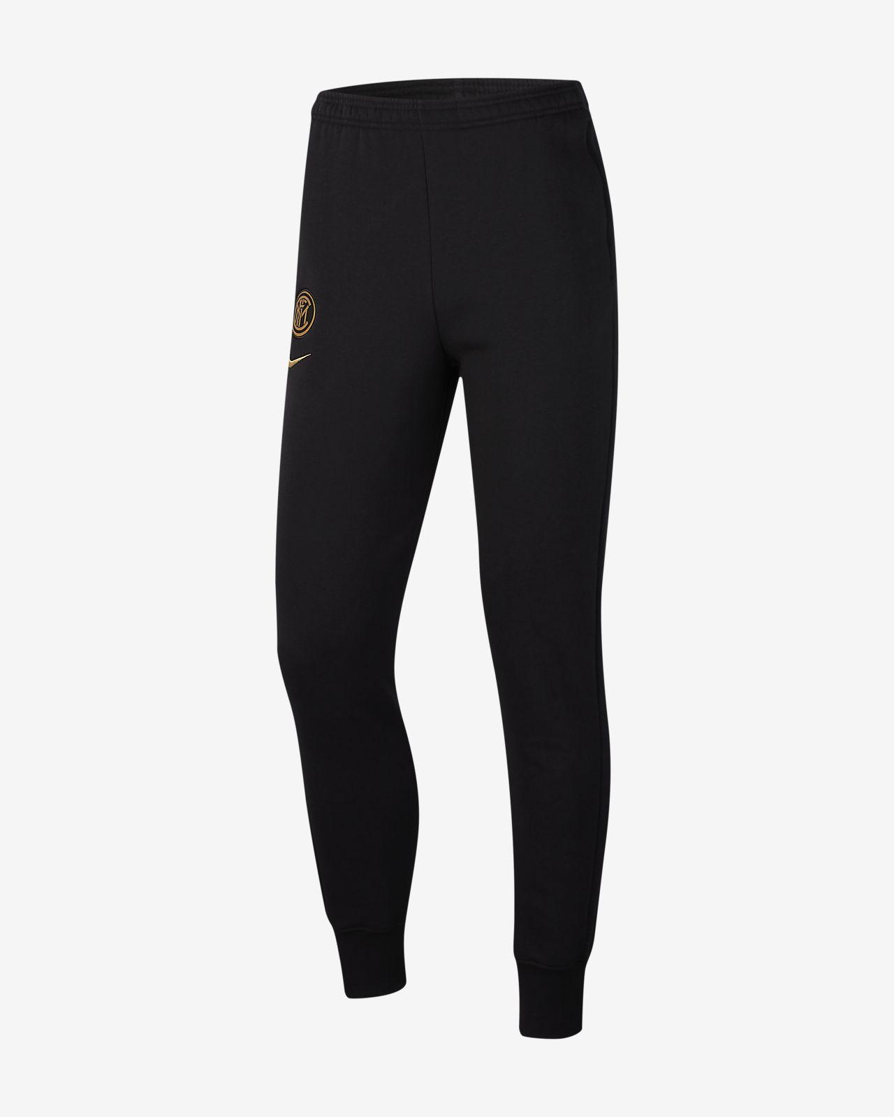 Pantalones de tejido Fleece para hombre Inter Milan