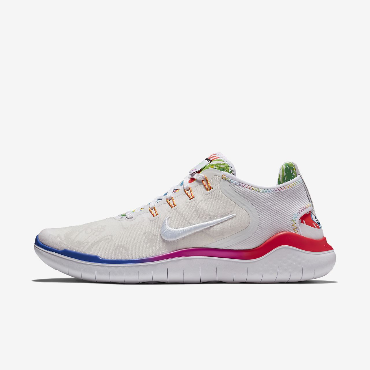 WMNS NIKE FREE RN 2018 - FOOTWEAR - Low-tops & sneakers Nike