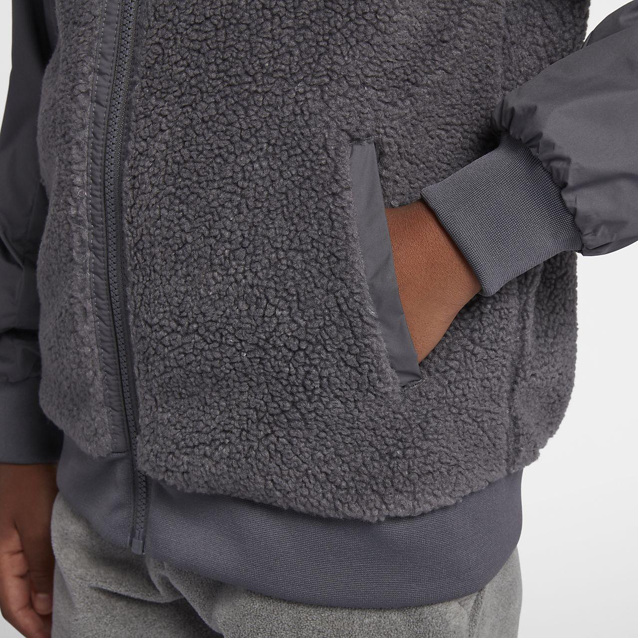 951ad10a1177 Nike Sportswear Windrunner Boys  Sherpa Jacket. Nike.com