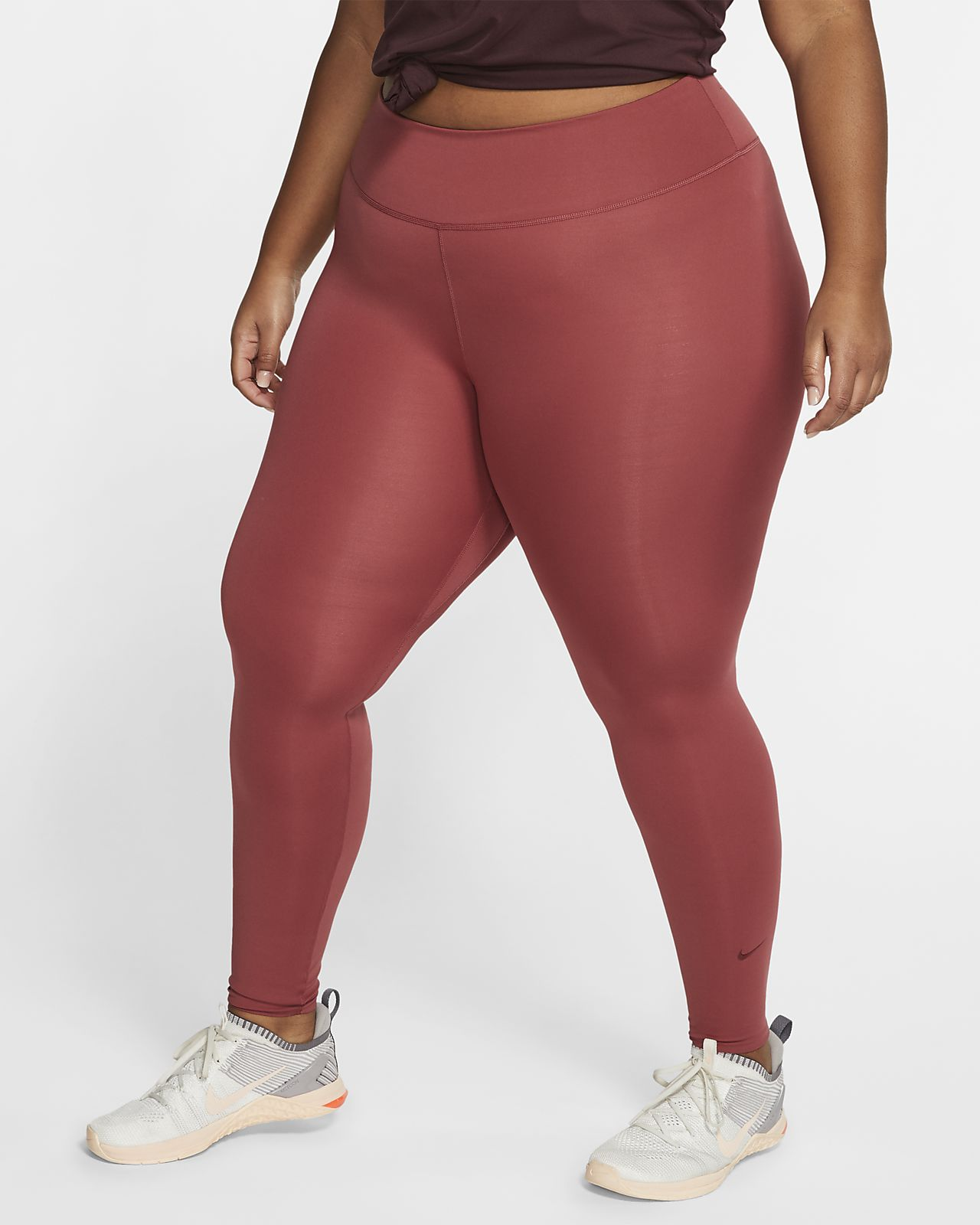 Legginsy damskie Nike One Luxe (duże rozmiary)