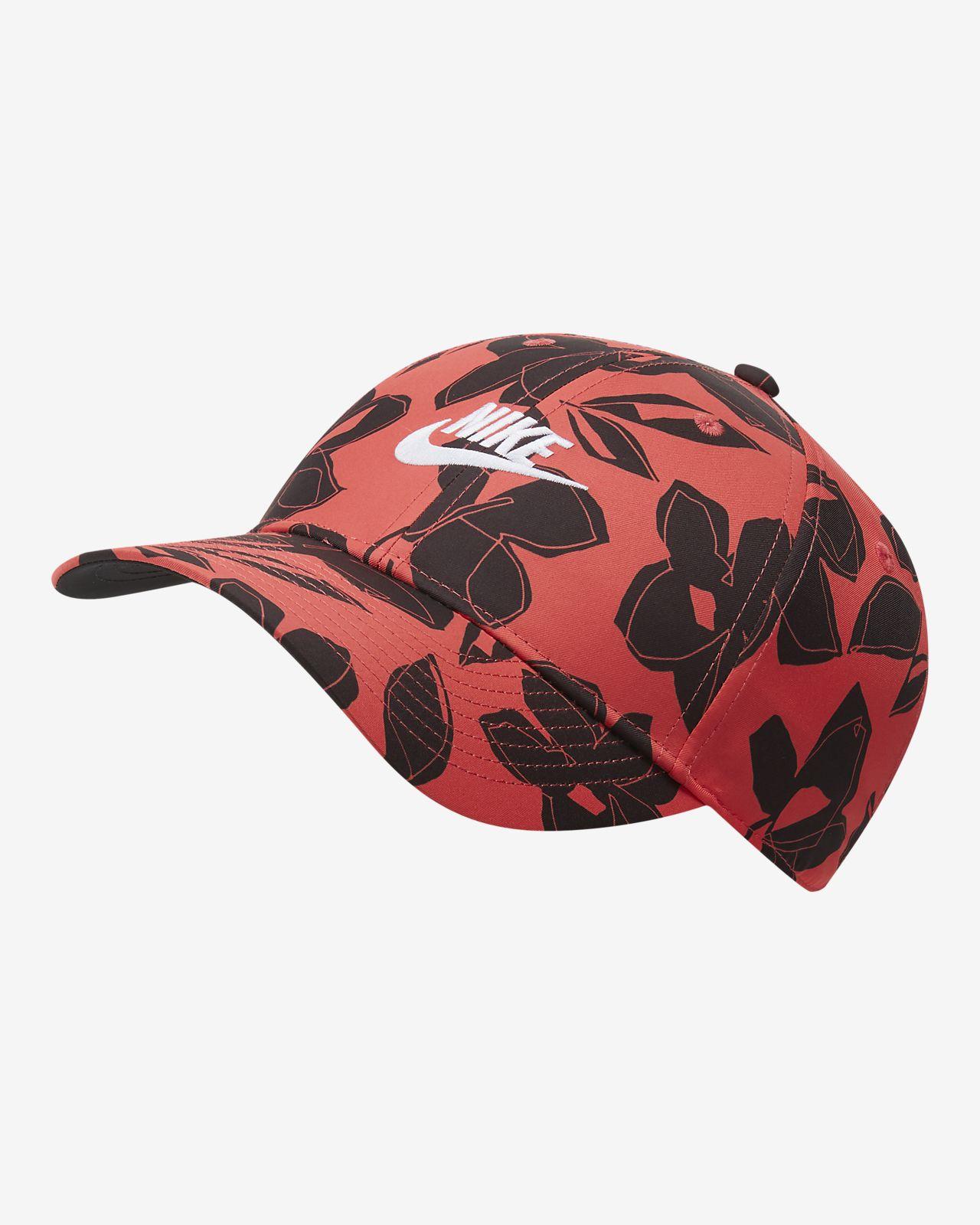 หมวกพิมพ์ลาย Nike Sportswear AeroBill Legacy91