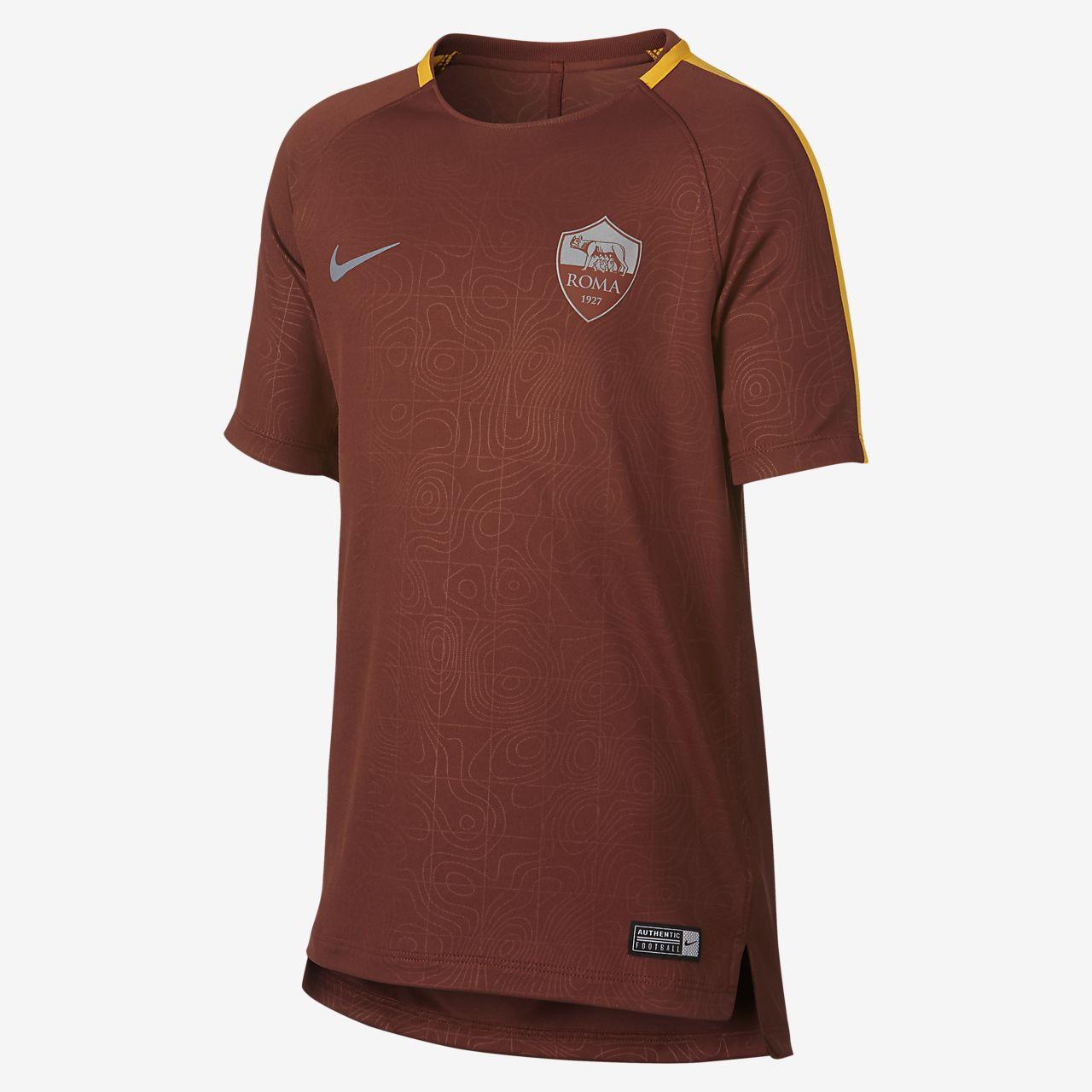 A.S. Roma Dri-FIT Squad futballfelső nagyobb gyerekeknek