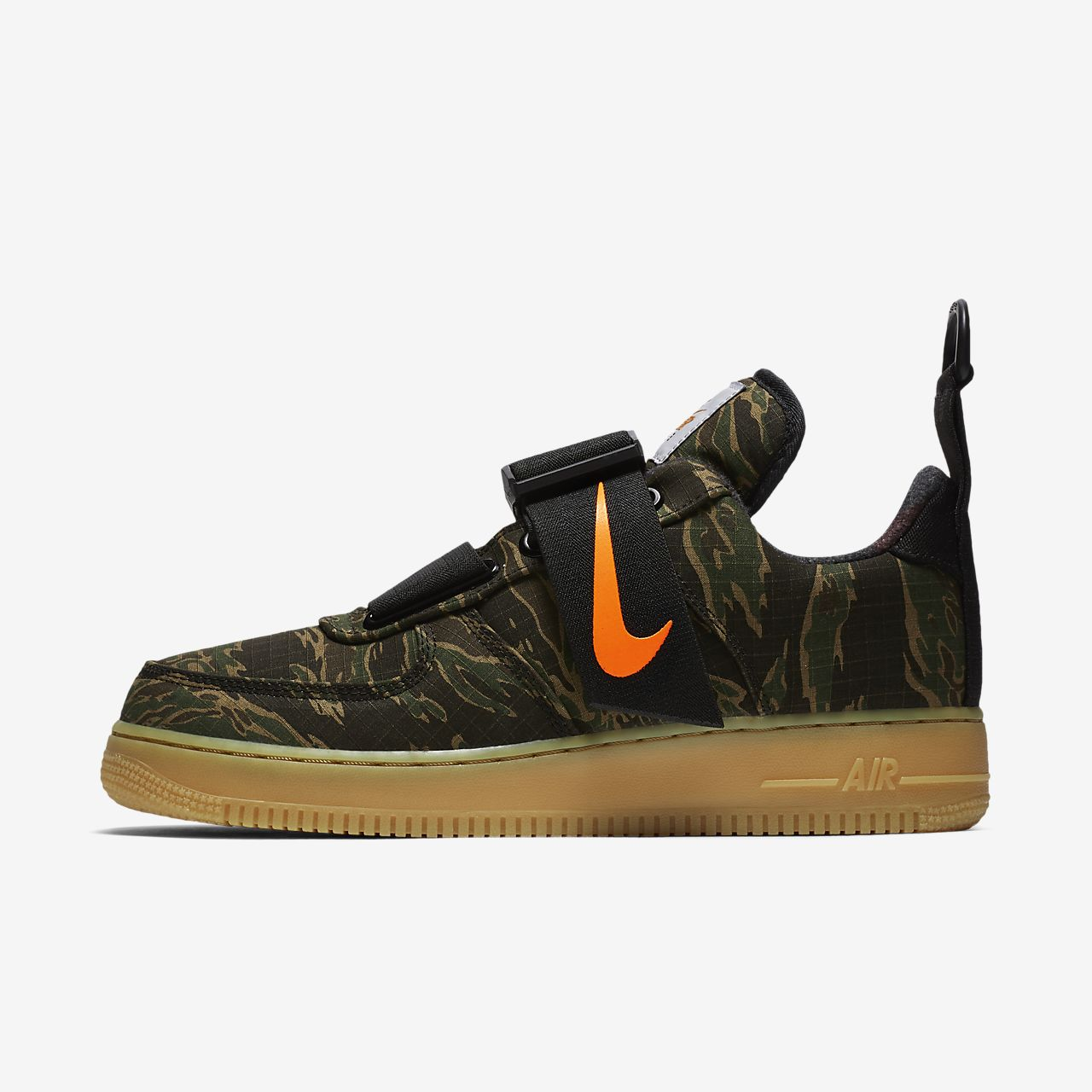 nike air force 1 utility zwart